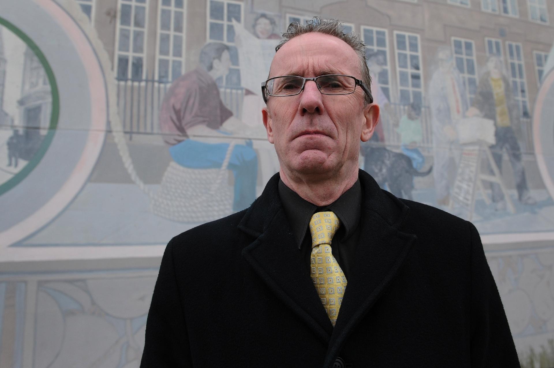 Liberal Democrat councillor Fraser Macpherson.