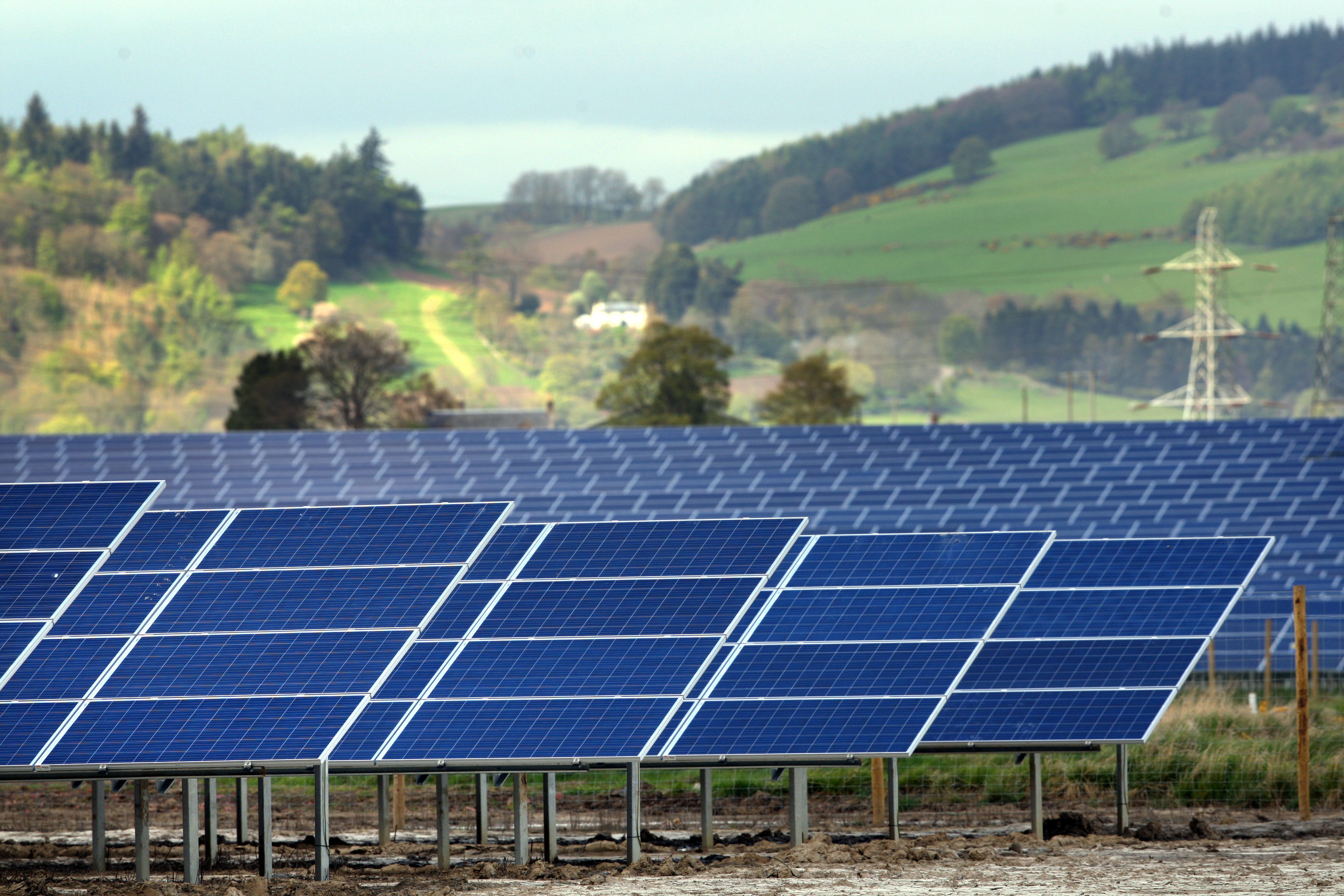 Carse Of Gowrie Solar Farm Goes Live The Courier