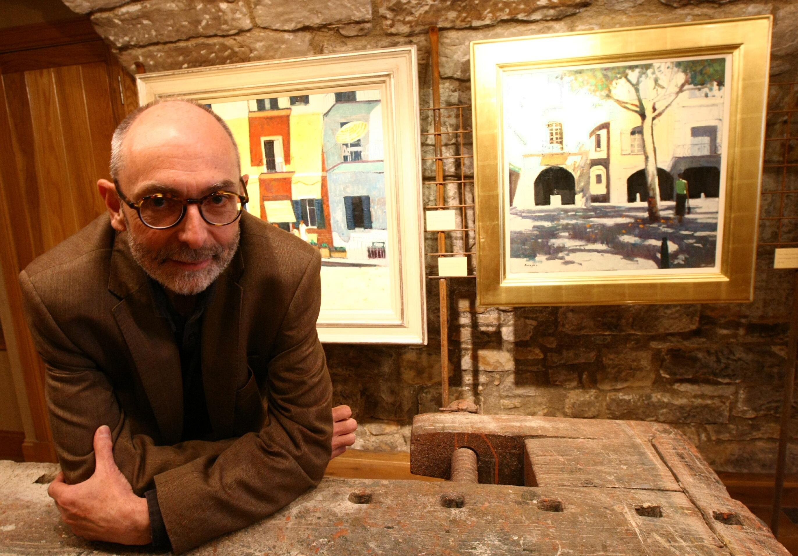 Artist In Residence John Kingsley.
