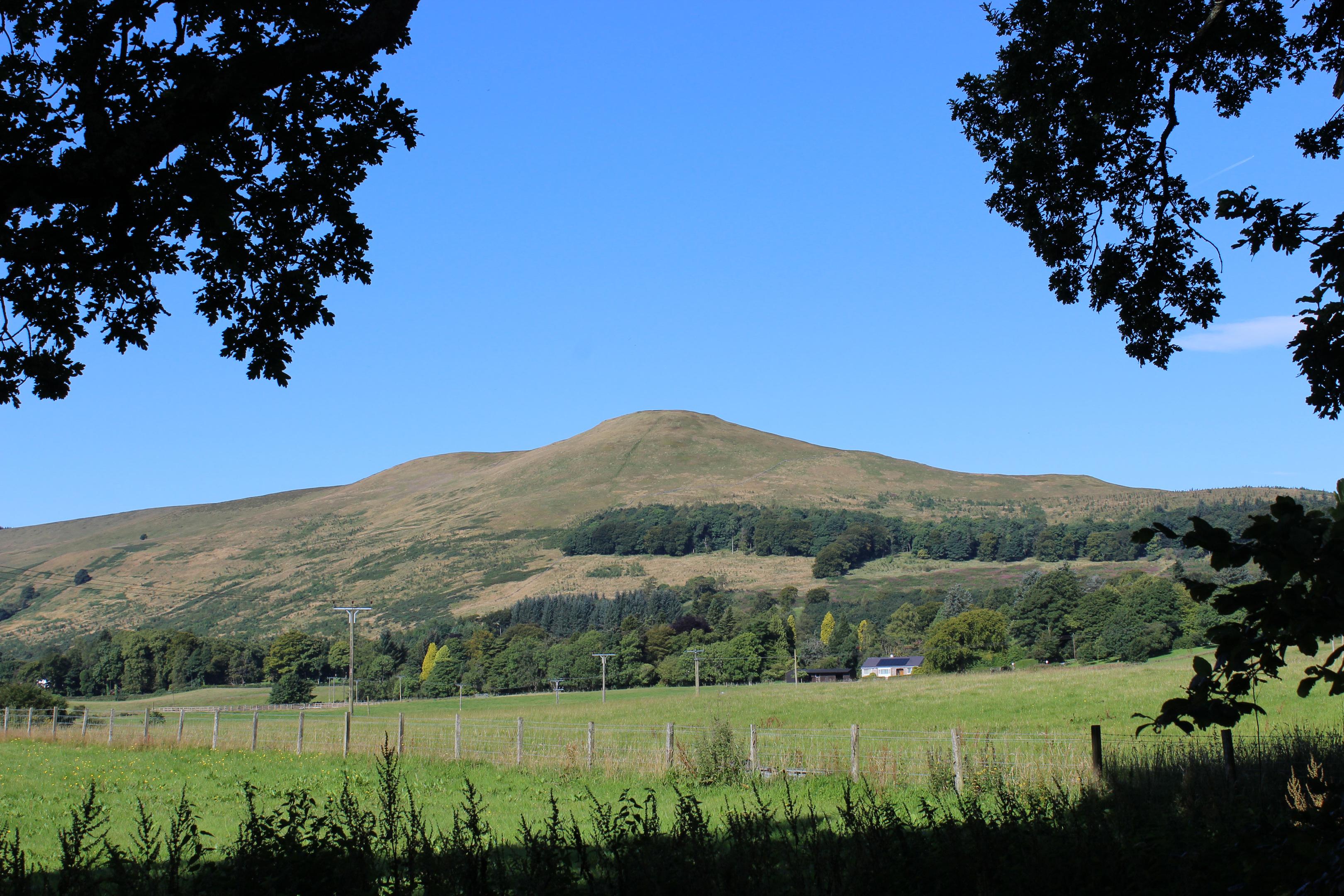 Seamab Hill from Glen Devon.