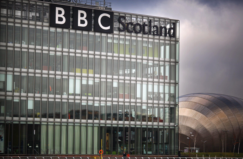BBC Scotland's premises at Glasgow's Pacific Quay.