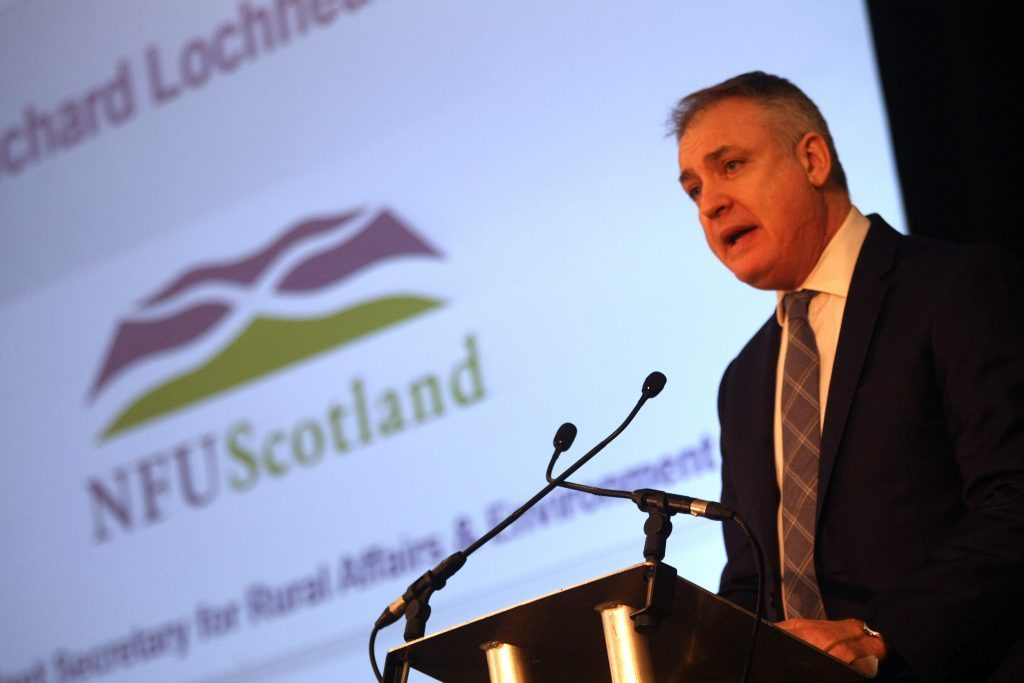 Kris Miller, Courier, 12/02/16. Picture today at NFU Farmers Union agm at Fairmont Hotel, St Andrews Friday 12th From 10.30-12.00 Richard Lochhead will address the union then answer questions.