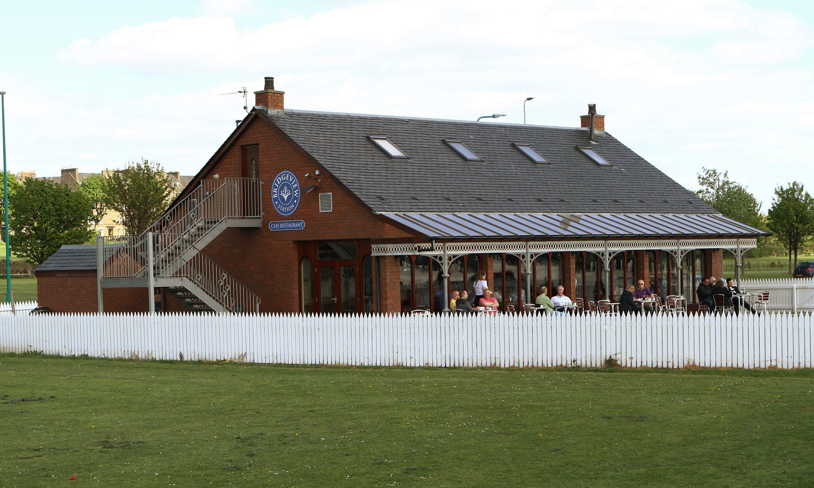 The Bridgeview Station restaurant.