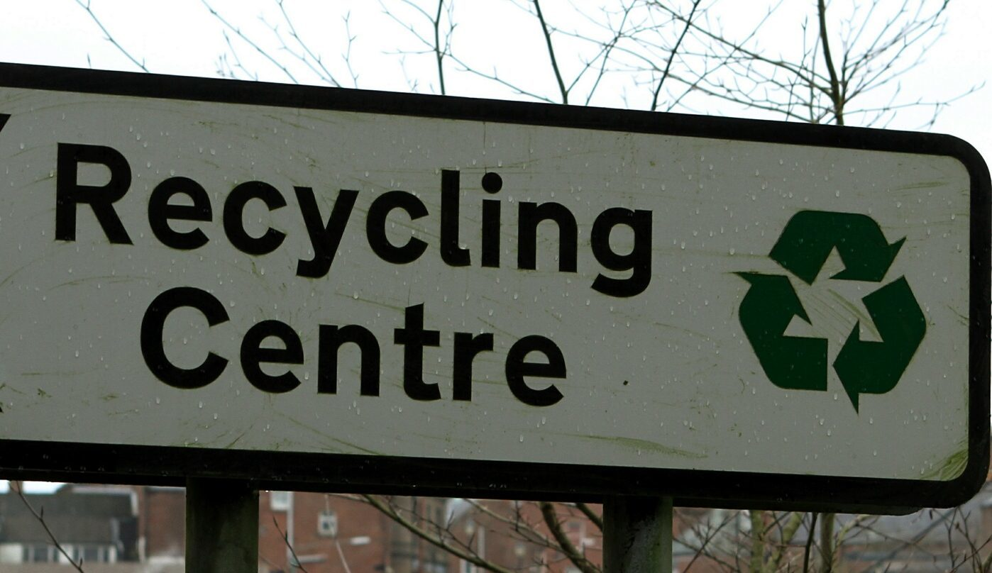 Ward initially told police he was walking his dog when he was caught in the recycling centre.