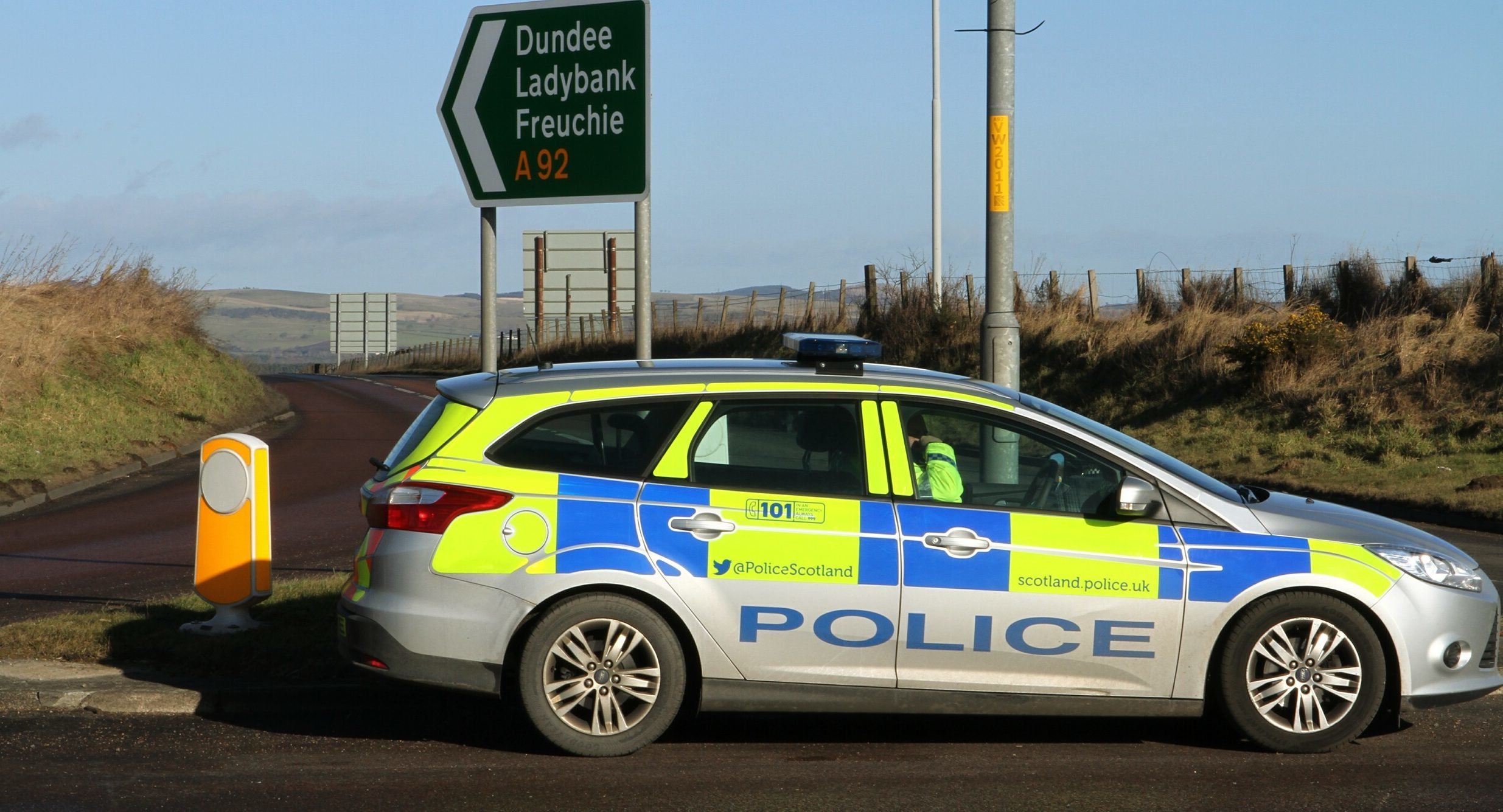 Police closed the A92 near Freuchie after Mr Christie's death.