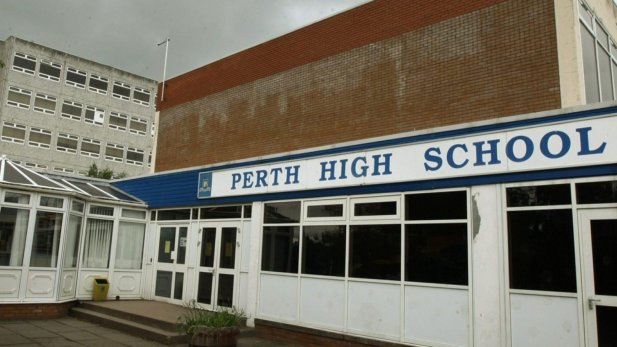Perth High School.