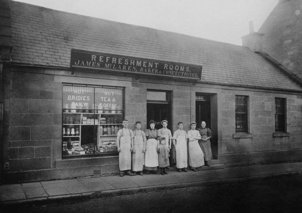 Forfar Bridies have been made at McLaren's in Market Street for five generations.