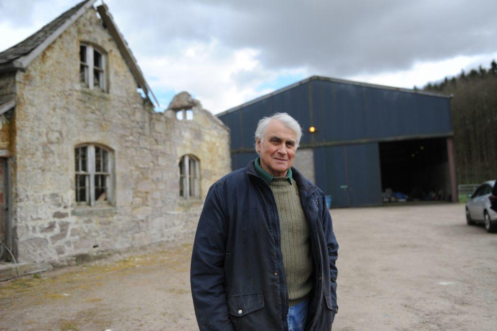 Farmer Alistair Alston.