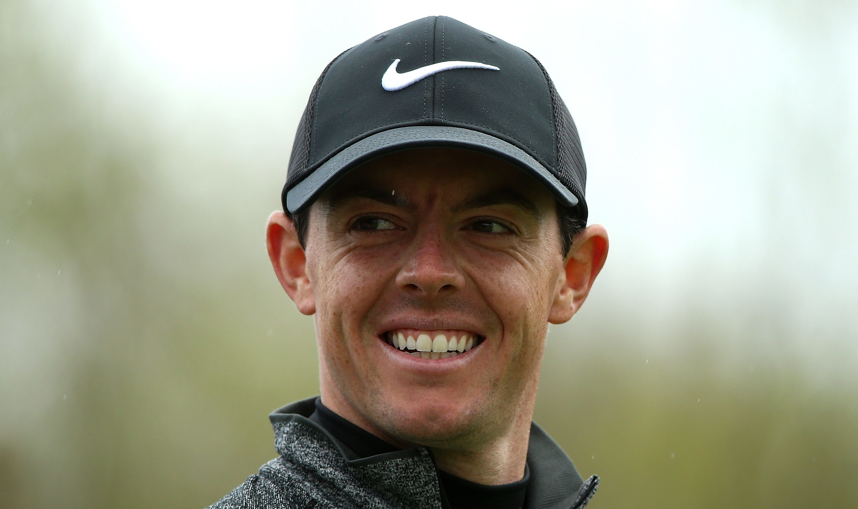 Rory McIlroy during a pre-tournament pro-am.