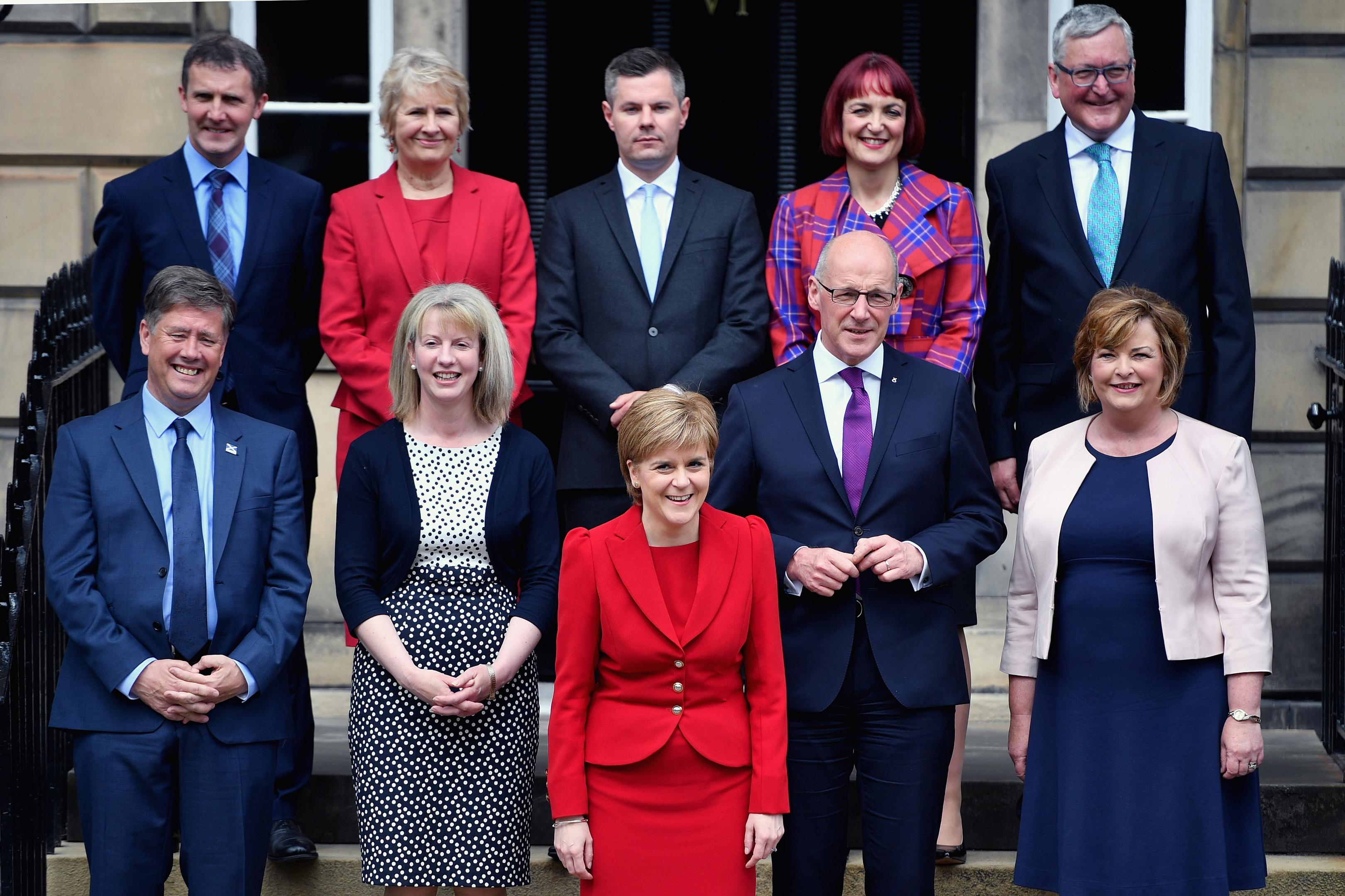 Nicola Sturgeon's new Cabinet