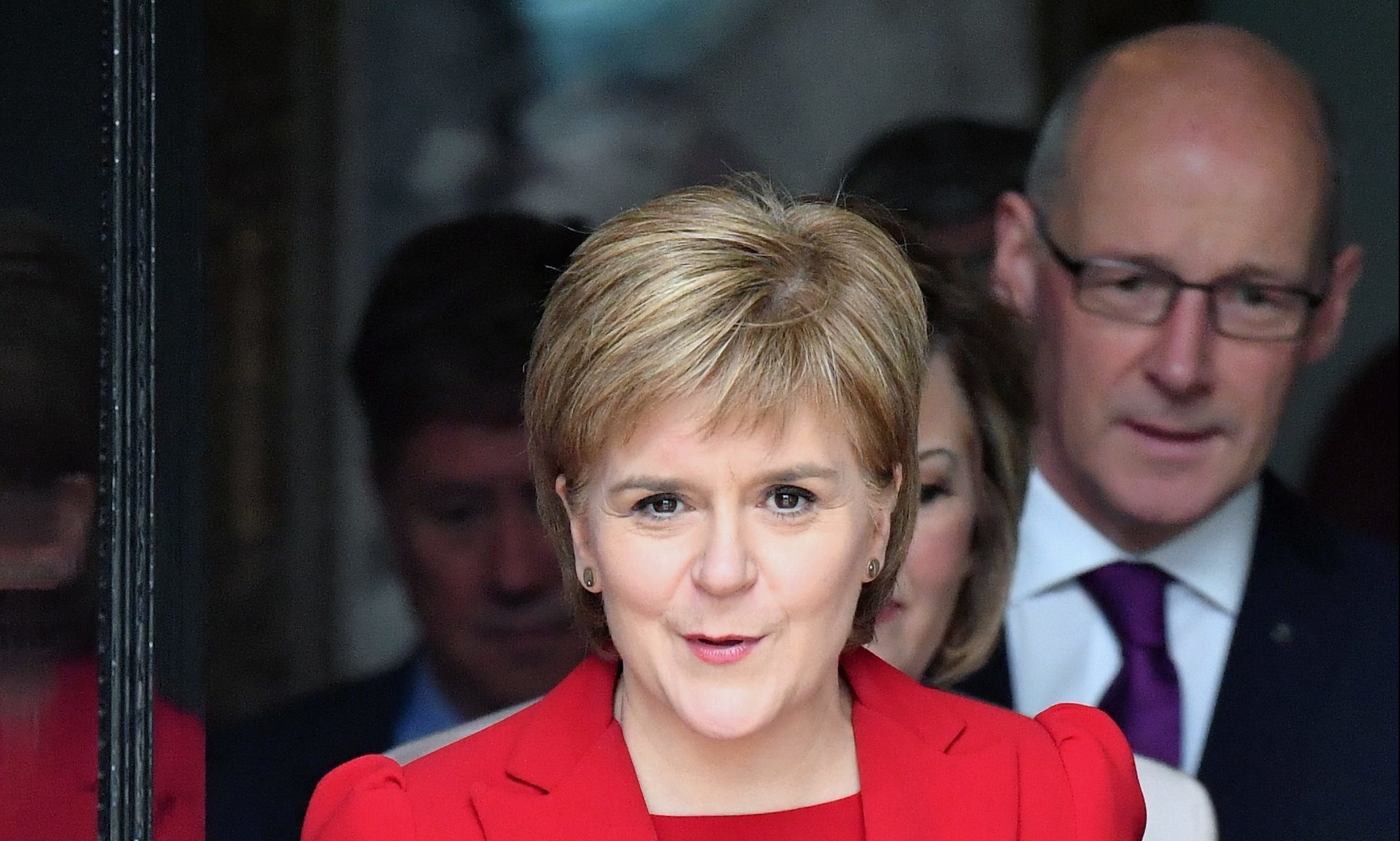 Nicola Sturgeon has handed education to her most trusted minister.