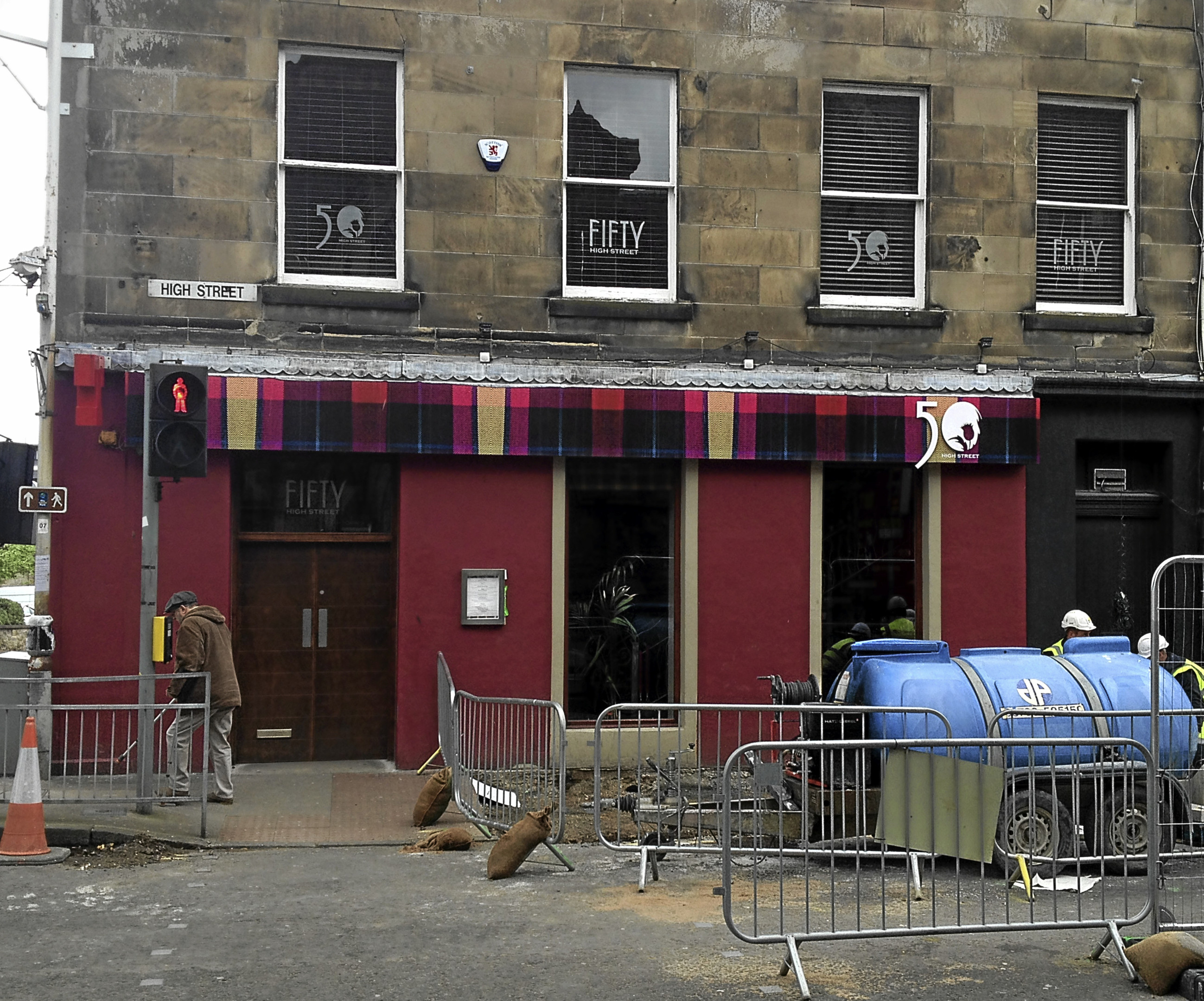 Fifty High Street in Kirkcaldy is closing down.