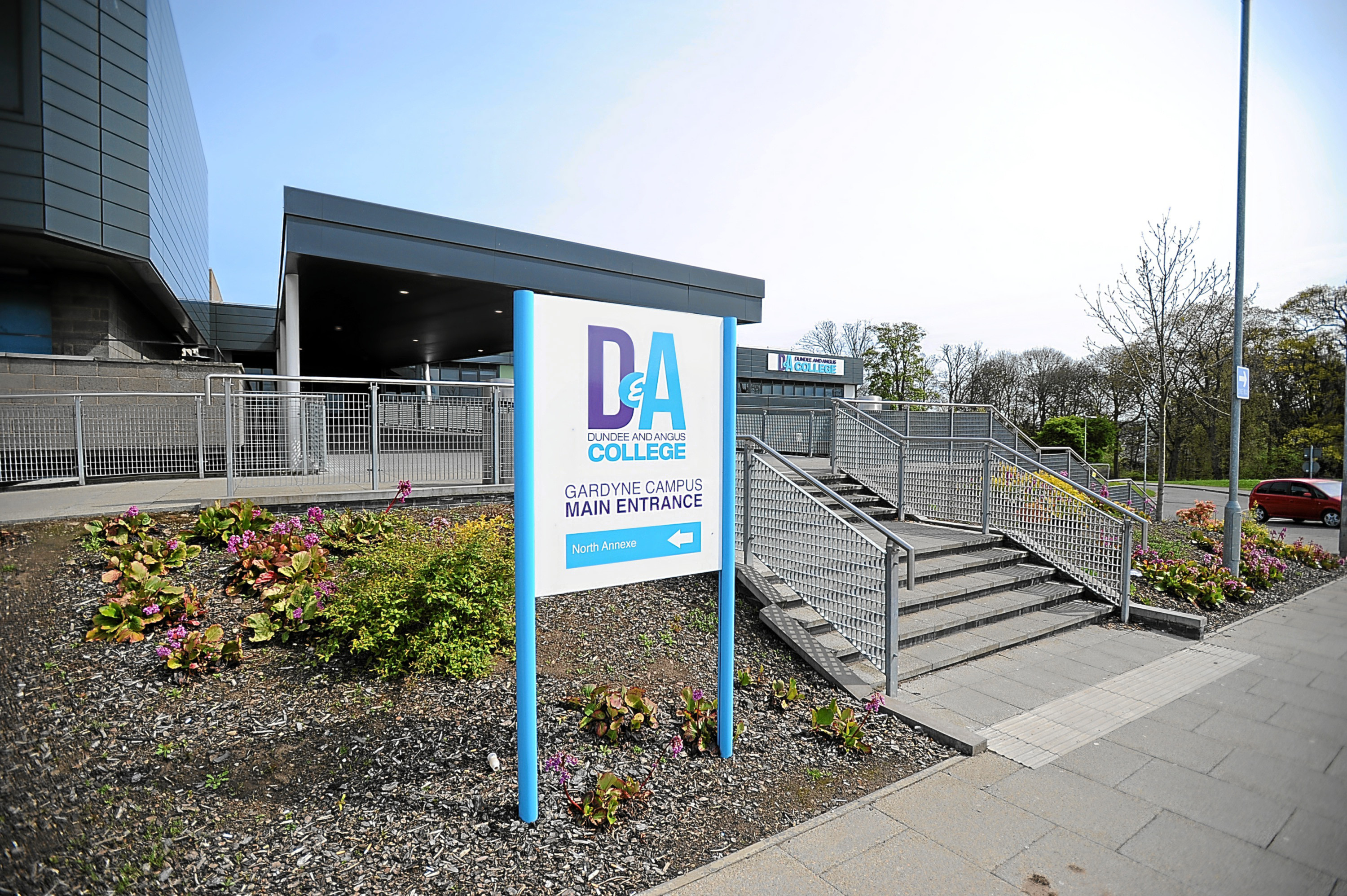 The D&A College apprenticeships will be available to school pupils in S4 or above. .
