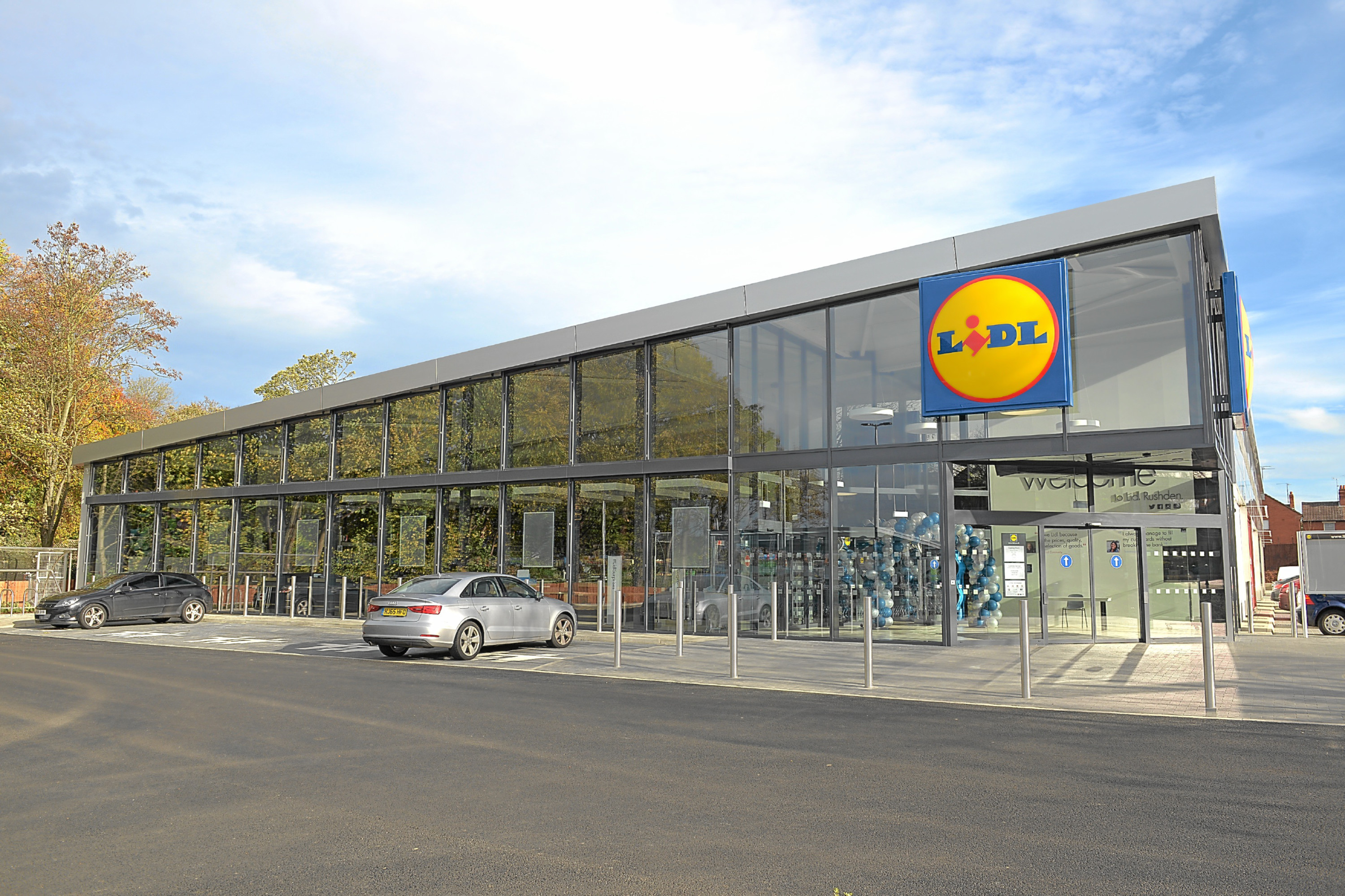 What the new store in Kirkcaldy will look like.