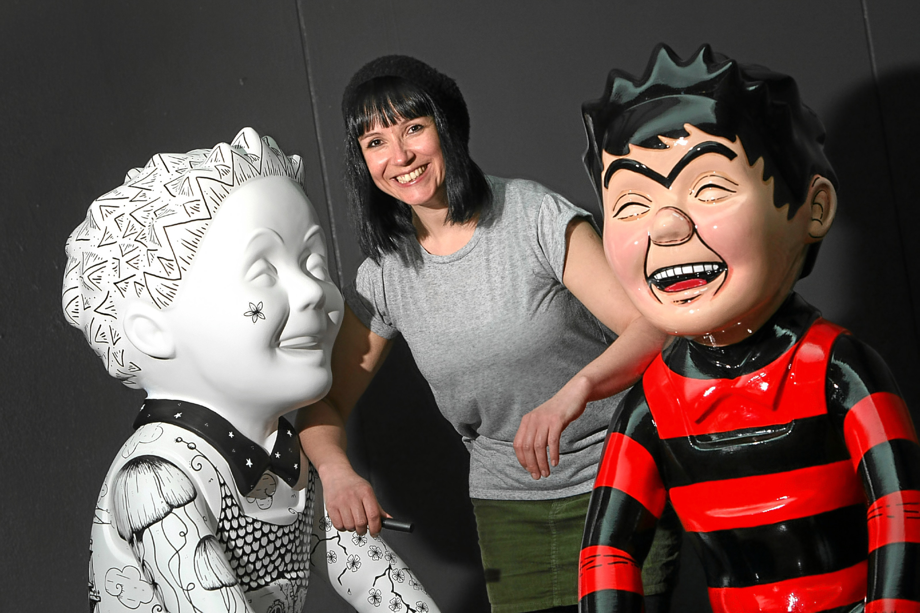 AOS participant and Oor Wullie Bucket Trail art co-ordinator Suzanne Scott.