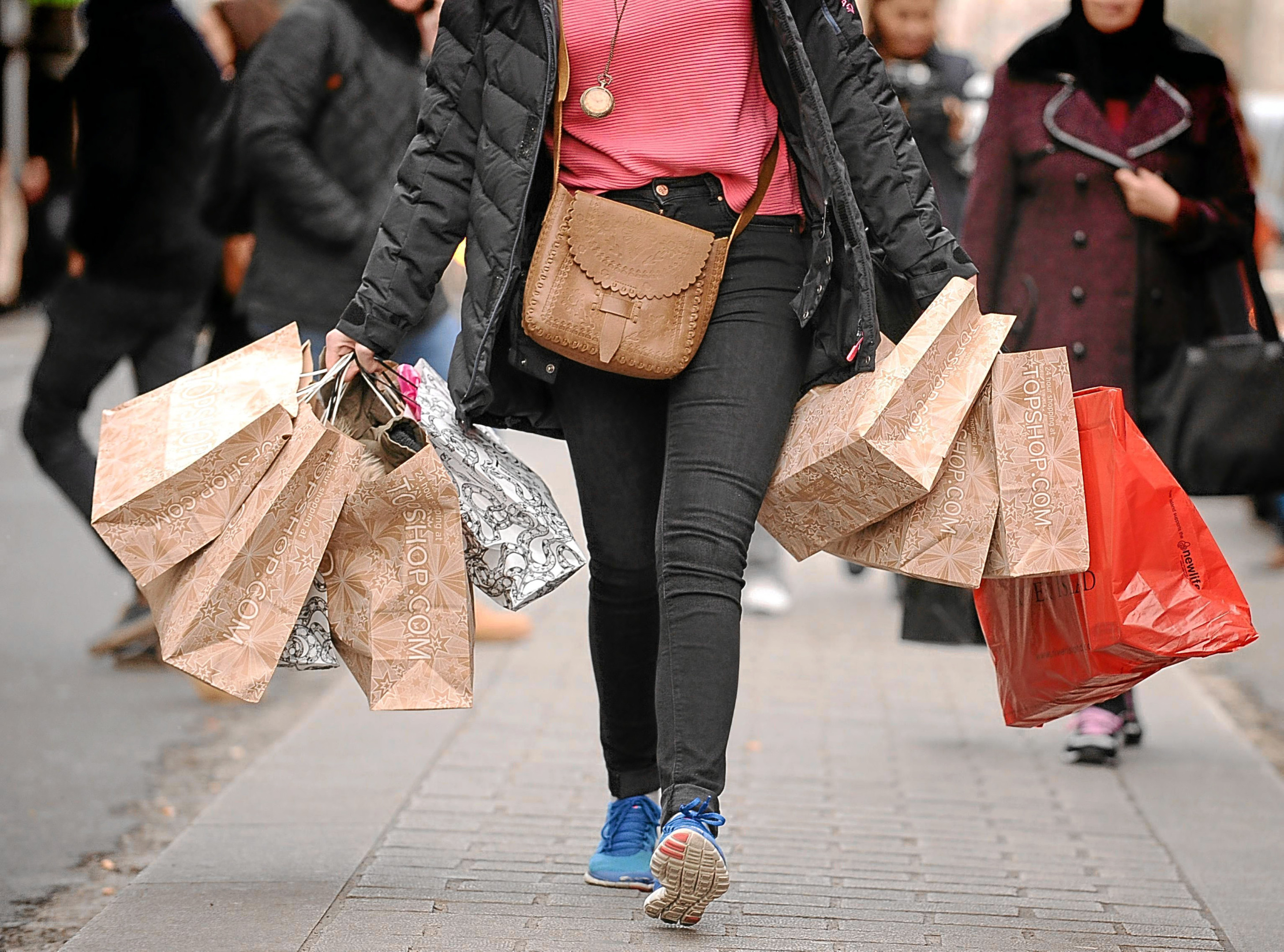 Shoppers will be on the lookout for bargains again this Black Friday