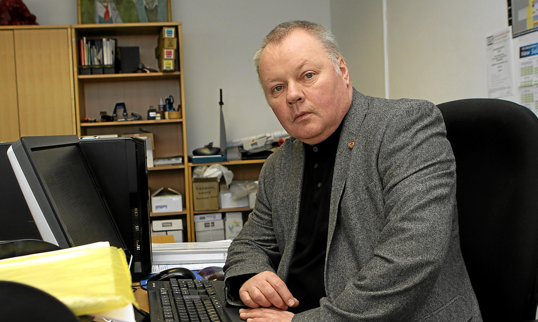 David Farmer, EIS publicity officer in Fife.