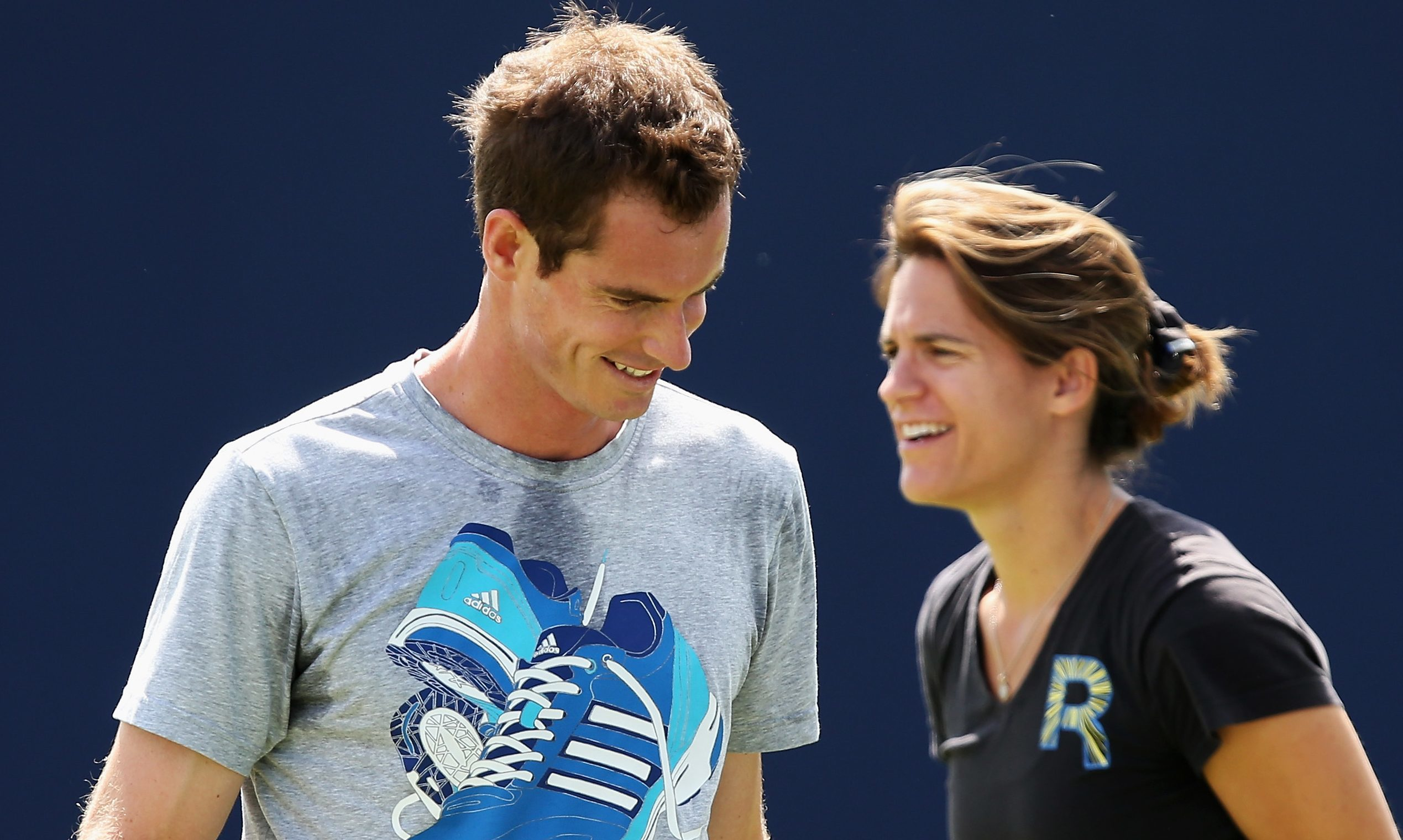 Andy Murray and Amelie Mauresmo.