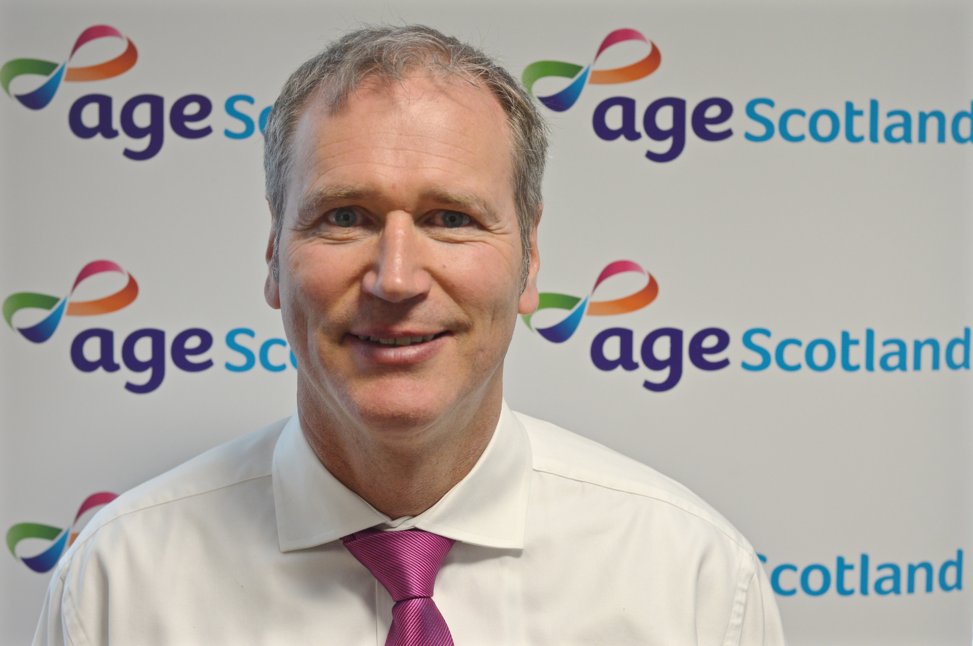 Brian Sloan, chief executive of Age Scotland