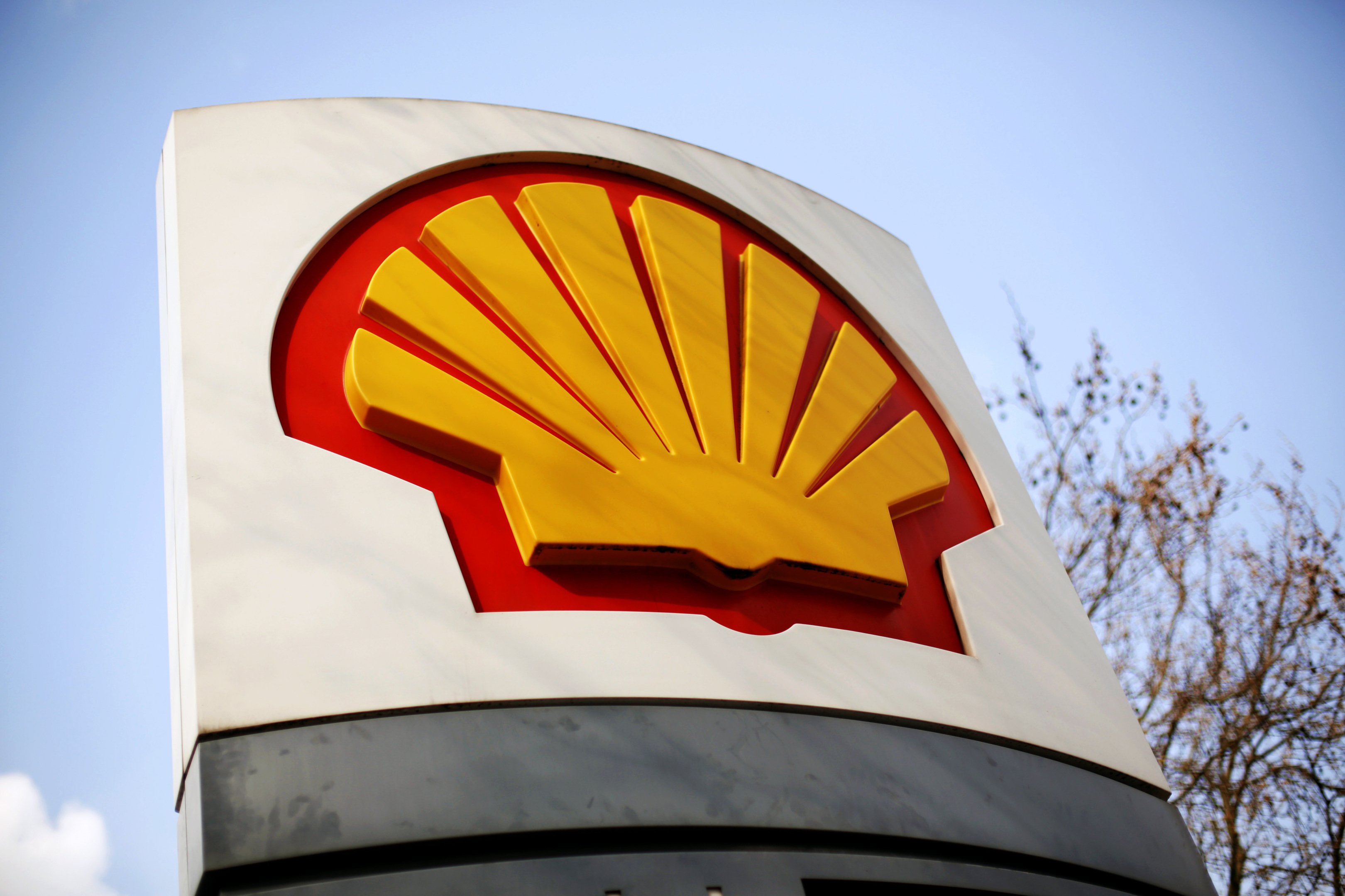 Shell is blaming the falling oil price for the cuts.