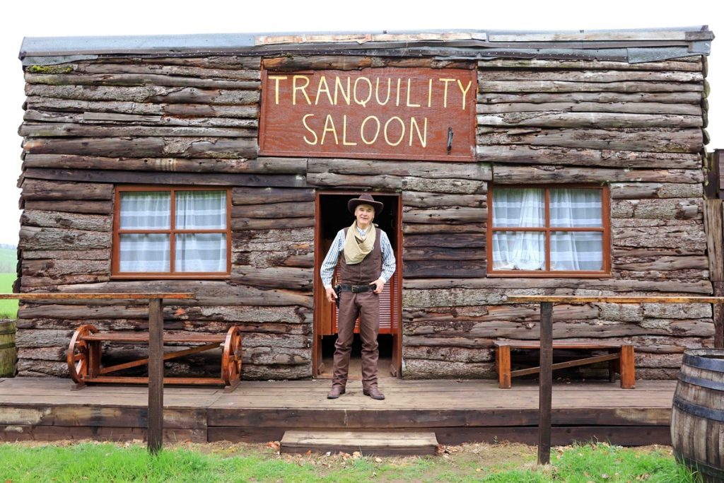 Tranquility Saloon, owned by Alistair Baranowski in Aberdeenshire.