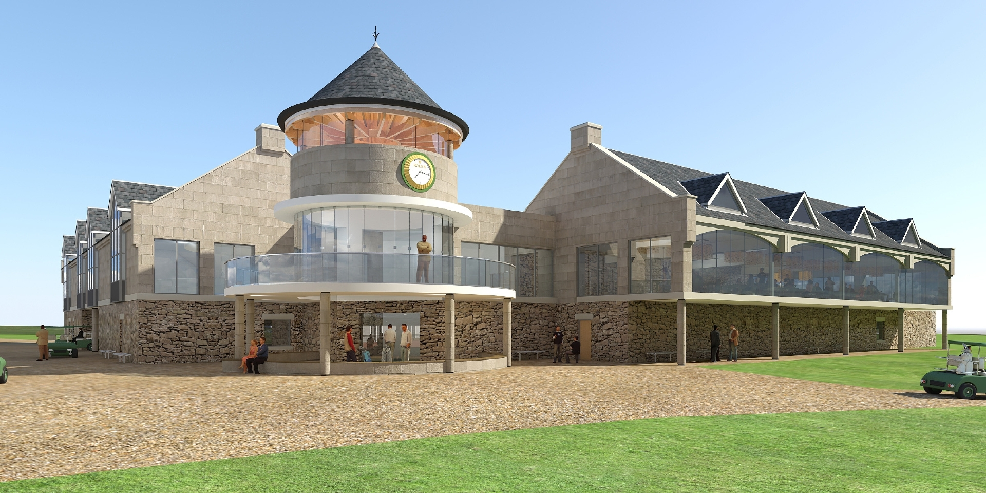 The plan to extend facilities at the Carnoustie golf centre has proved highly controversial.