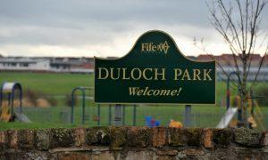Duloch Park in Dunfermline.