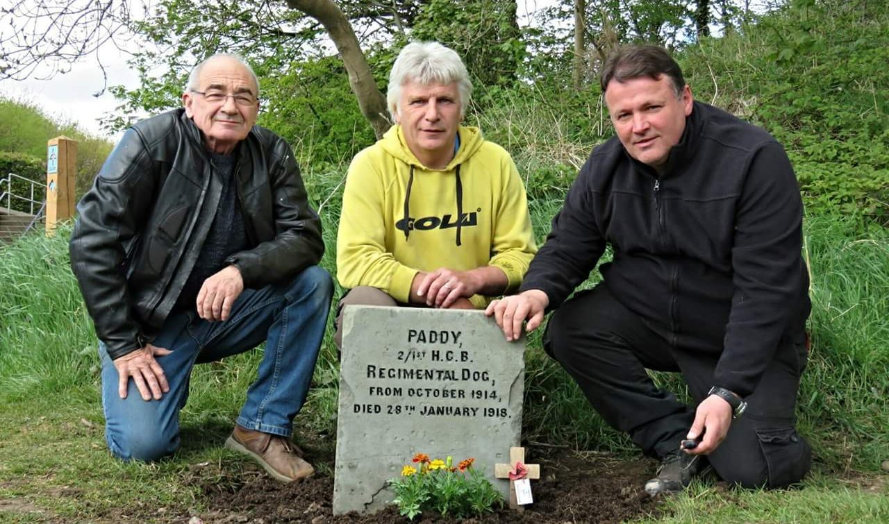 Paws For Reflection After Angus Volunteers Restore Grave Of Little Known WWI Canine Mascot