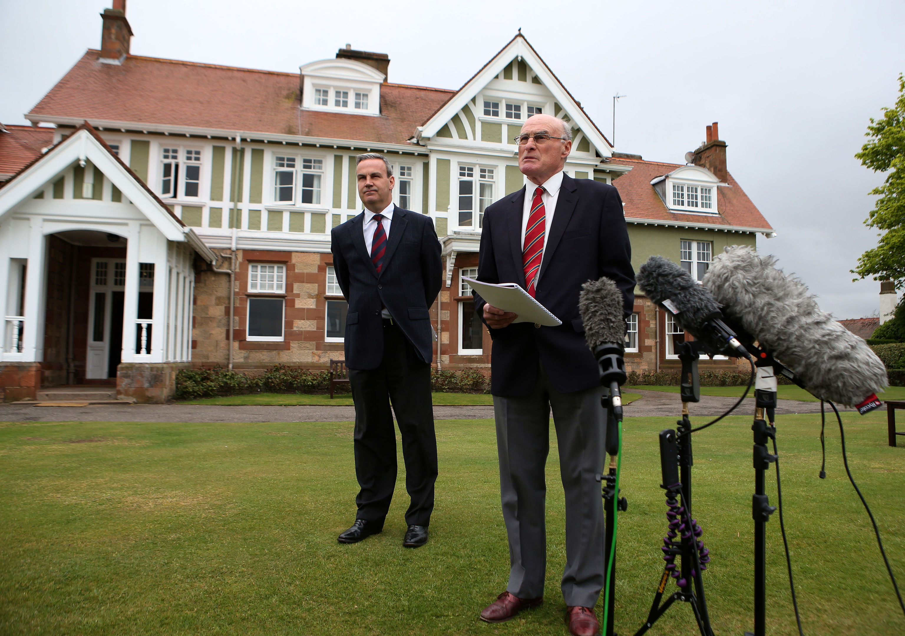 The R&A has removed the club from The Open rota after it voted against admitting women to join the club.