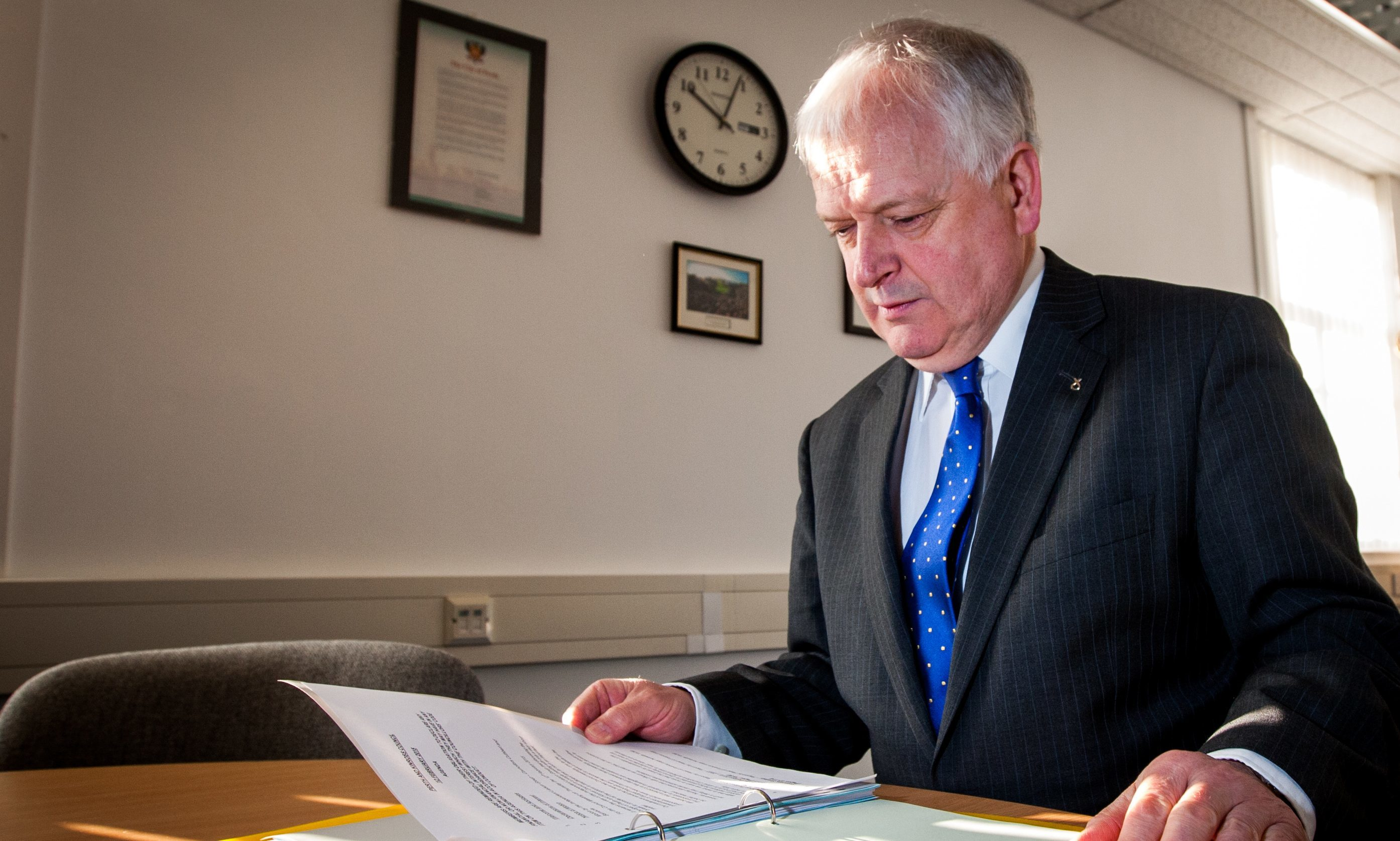 Perth and Kinross Council leader Ian Miller.