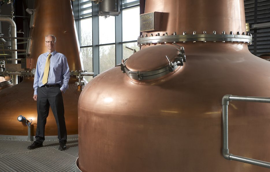 Ian Palmer at the new InchDairnie Distillery near Kinglassie.