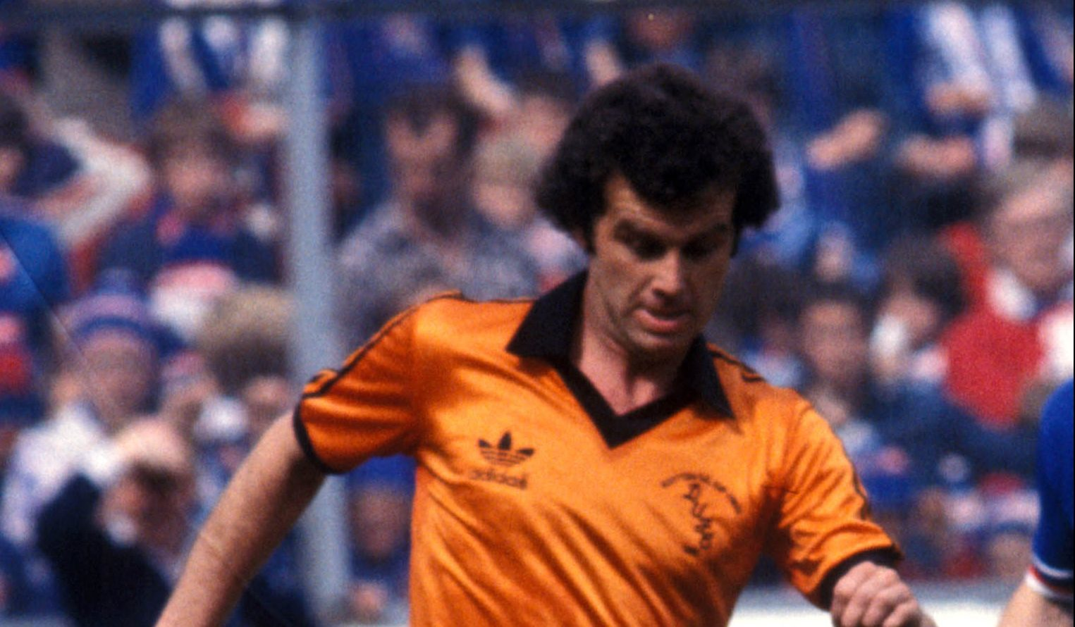 Frank Kopel during his playing days with Dundee United.