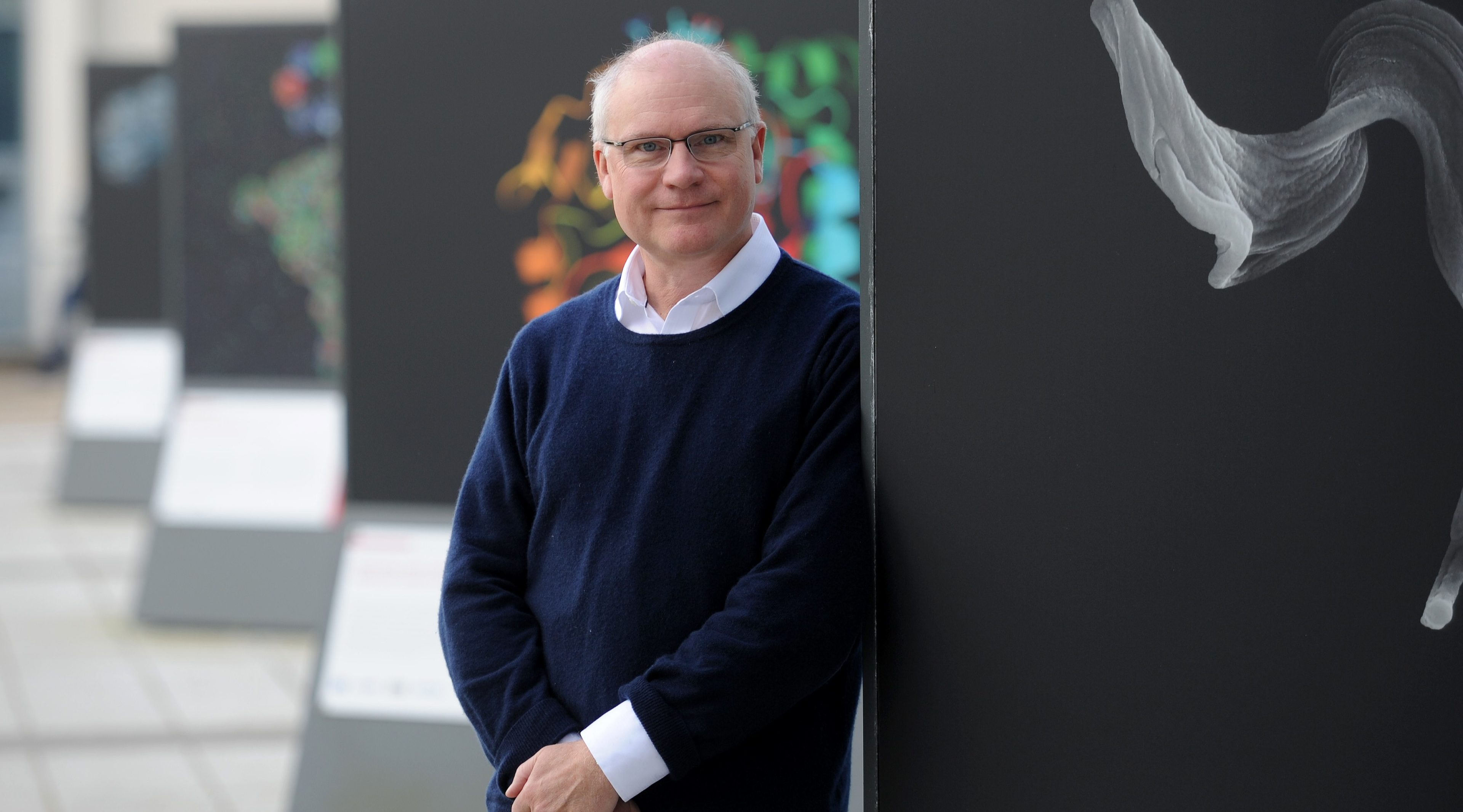 Professor Mike Ferguson of Dundee University.