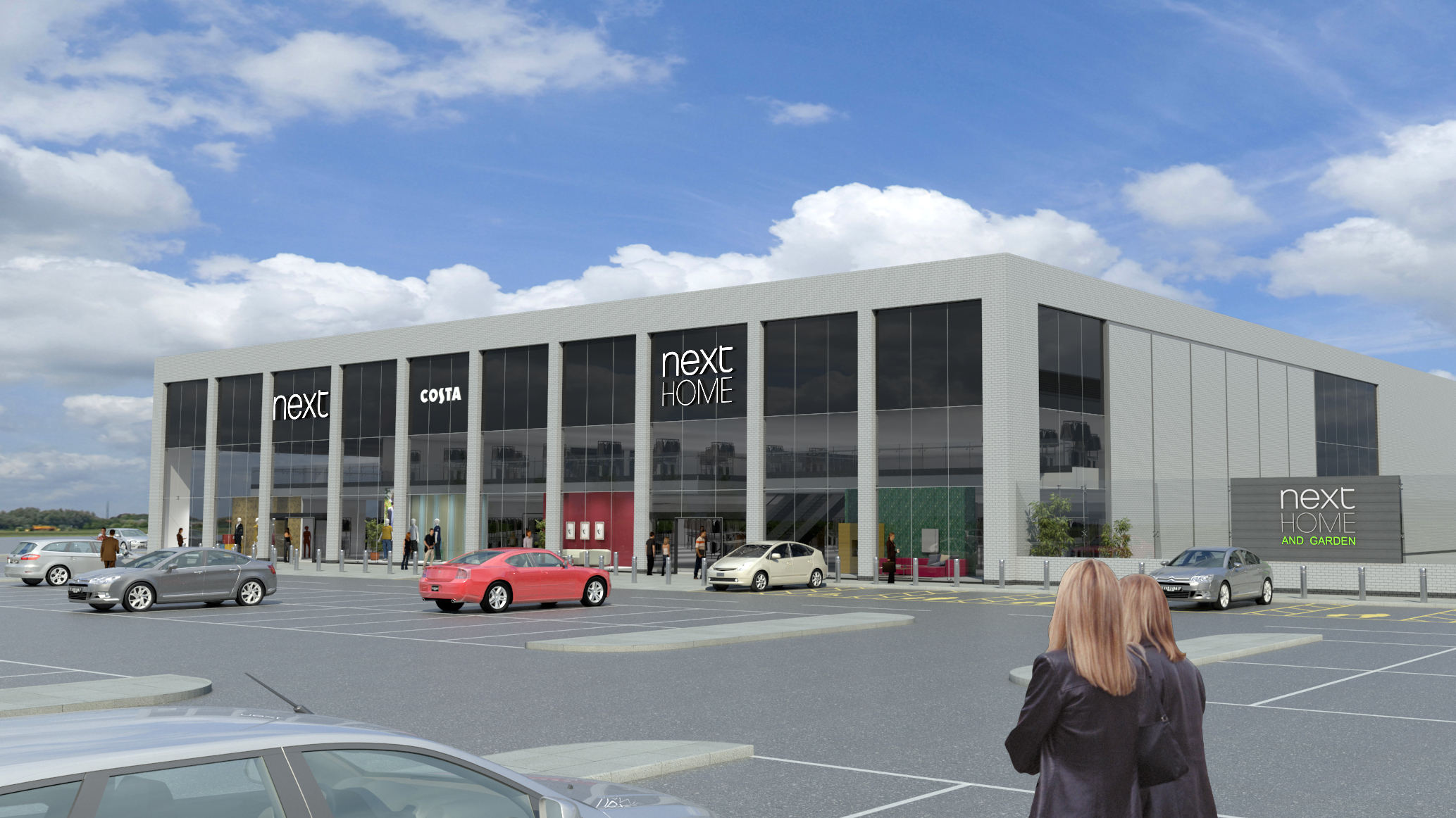 The proposed new Next Home and Garden store at Kingsway West, Dundee.