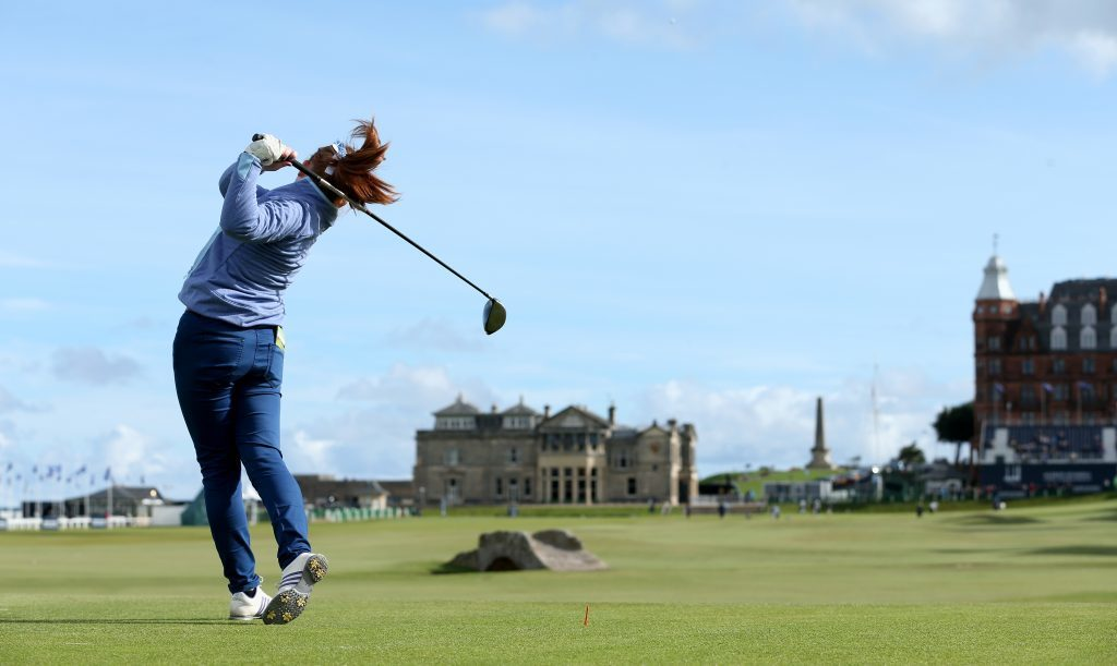 The iconic views of the Old Course, on the doorstep of the hotel, are world famous