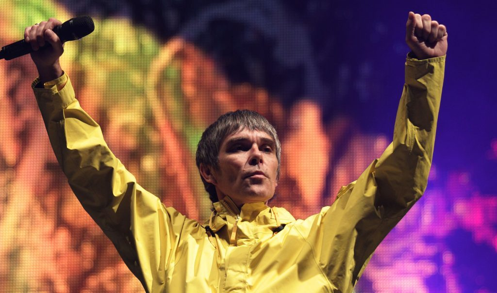 T in the Park headliners Stone Roses could be enjoying some fun in the Perthshire sun.