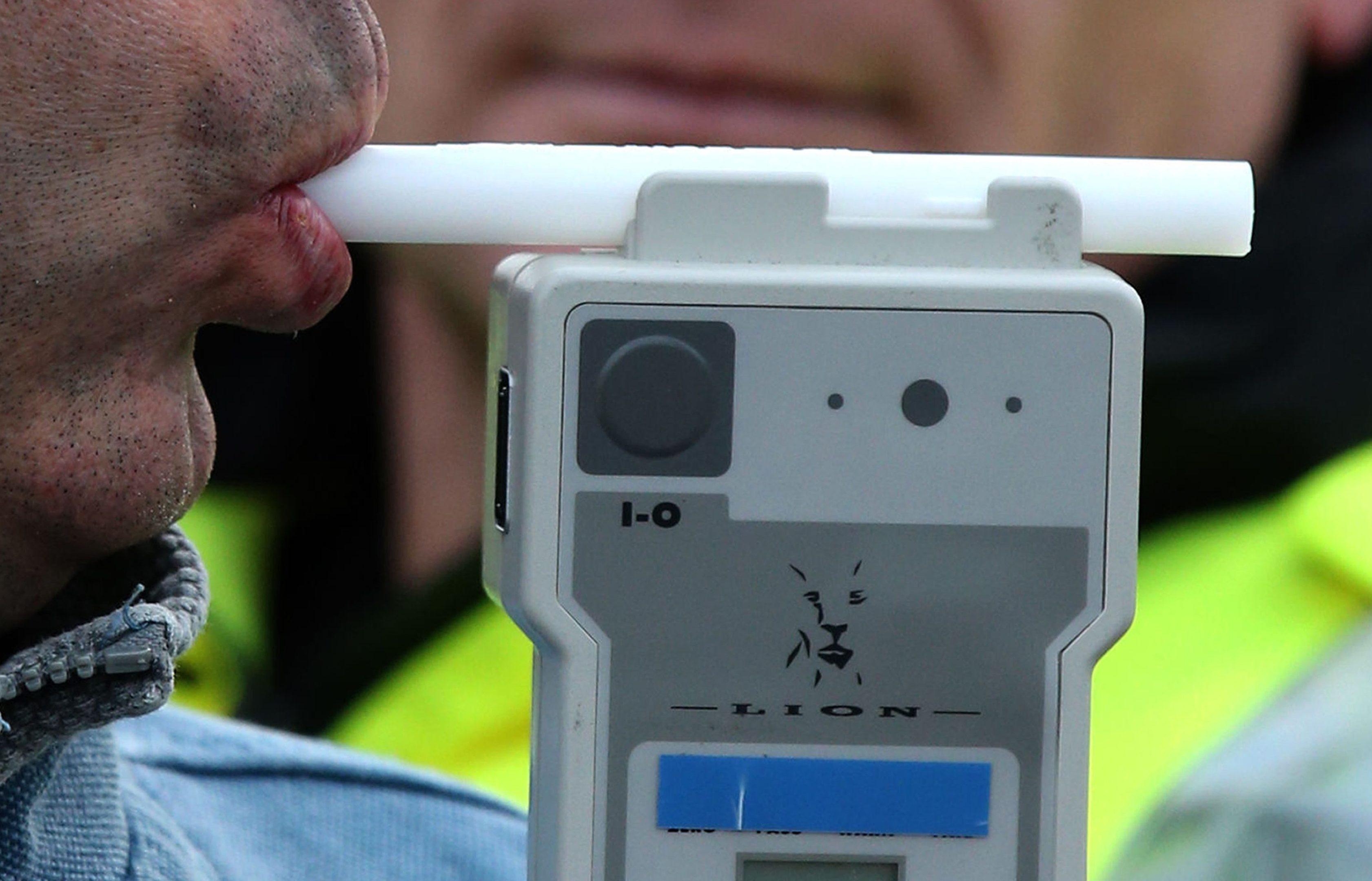 A police breathalyser. (library photo)