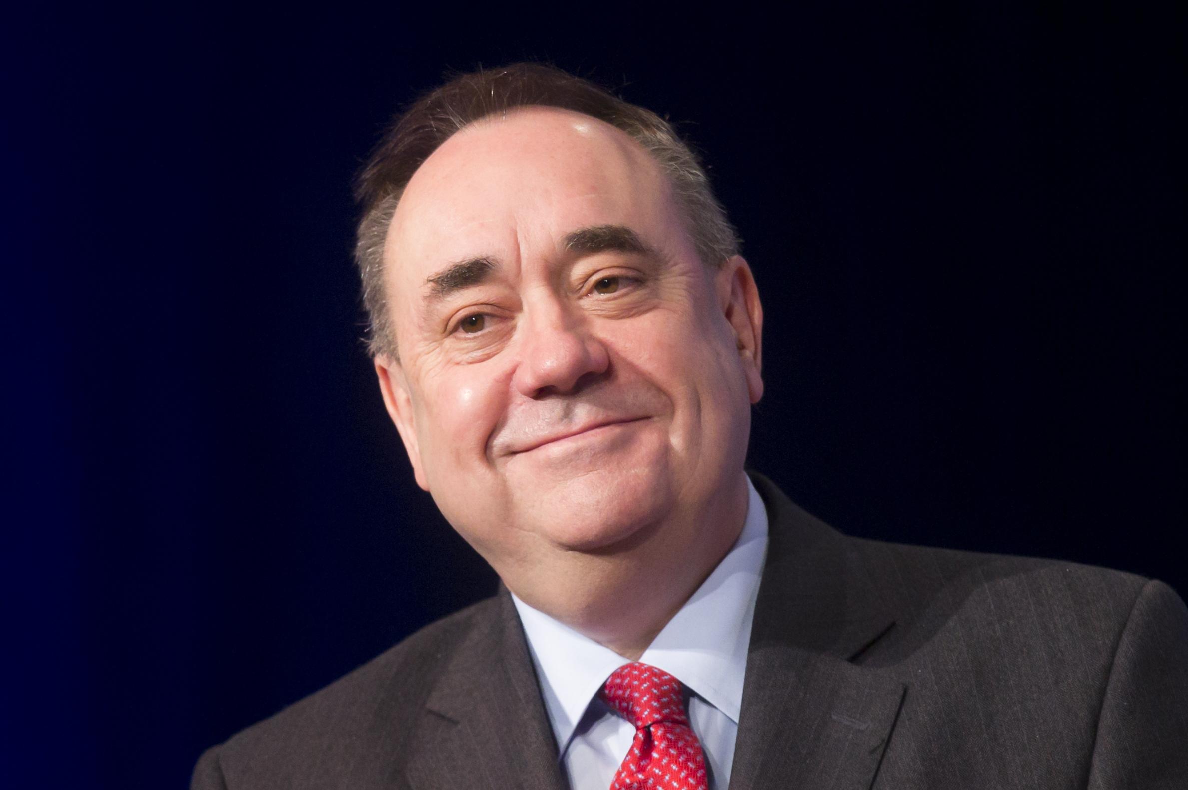Alex Salmond.