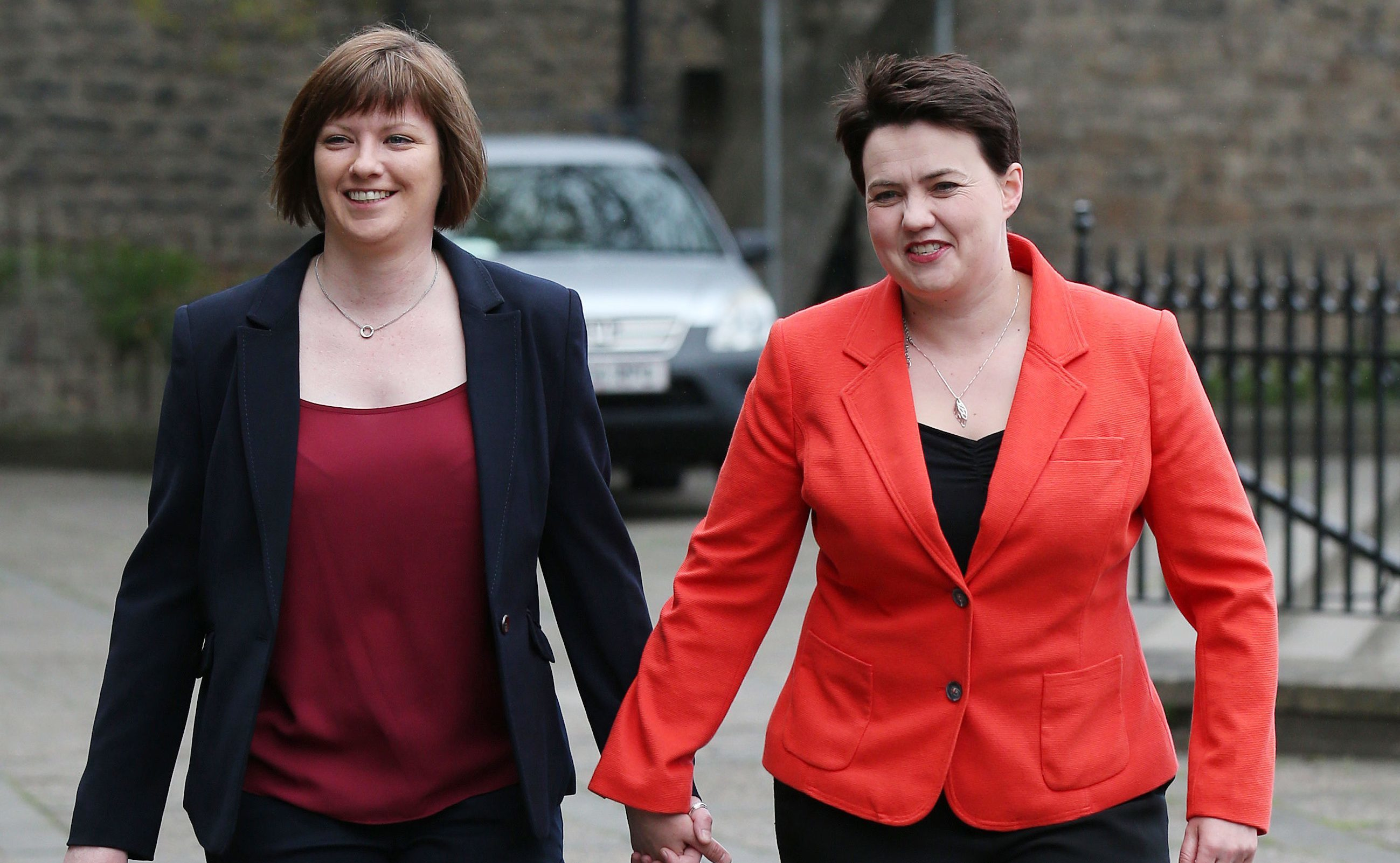 Scottish Conservative leader Ruth Davidson  and her partner Jen Wilson have got announced they are engaged.
