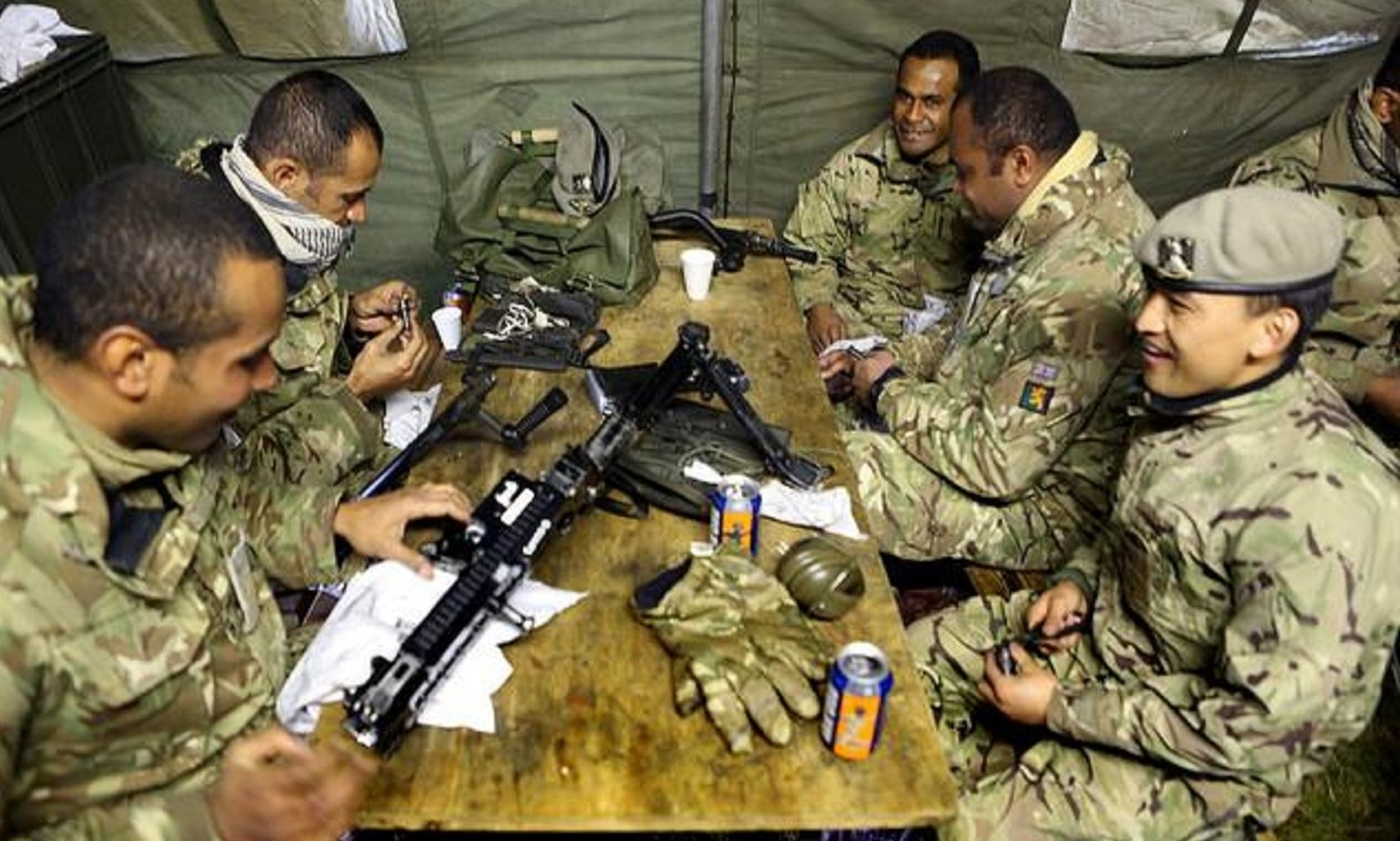 Fijian soldiers have been an integral part of the armed forces in Britain.