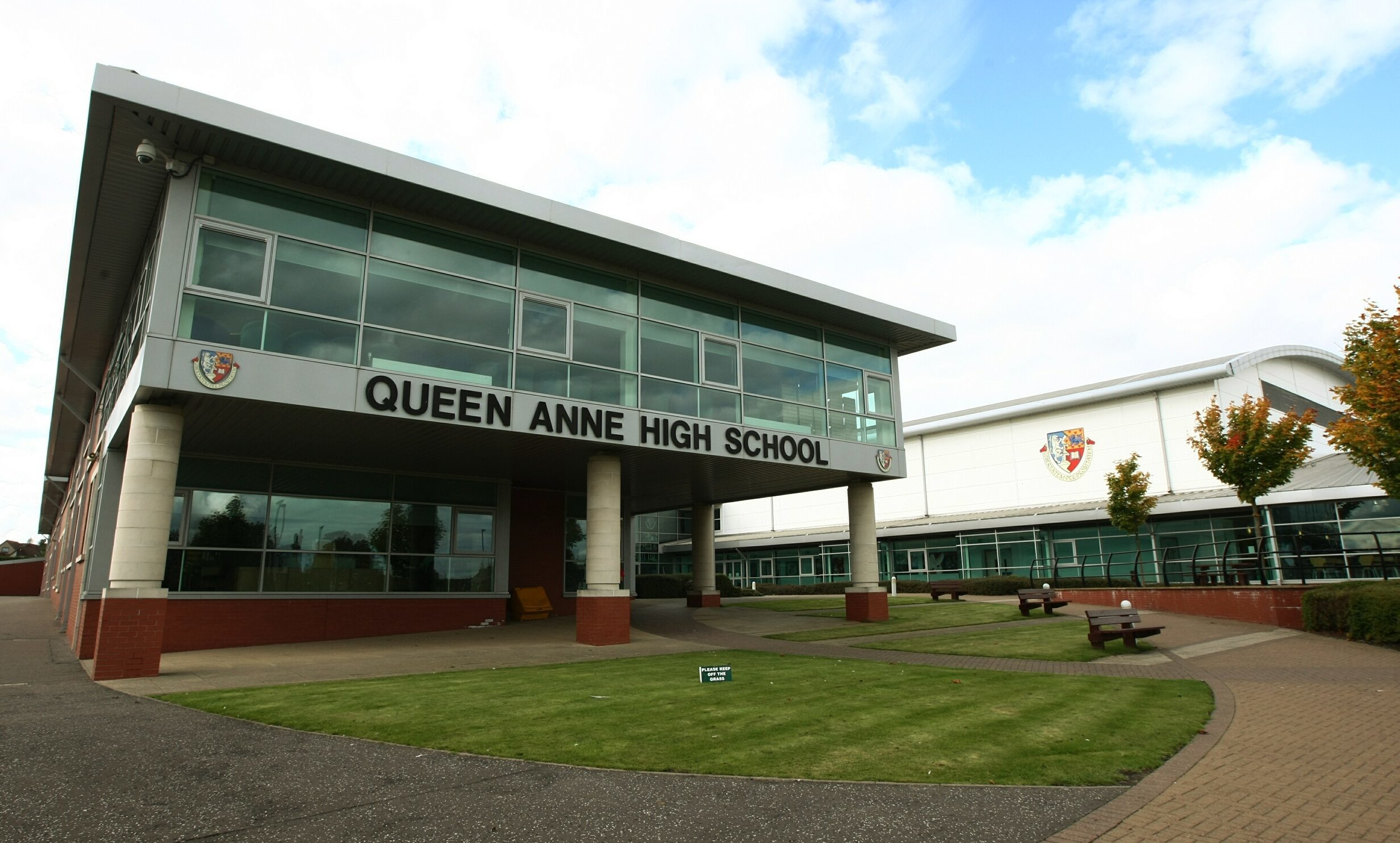 Queen Anne High headteacher Ruth McFarlane has called in police.