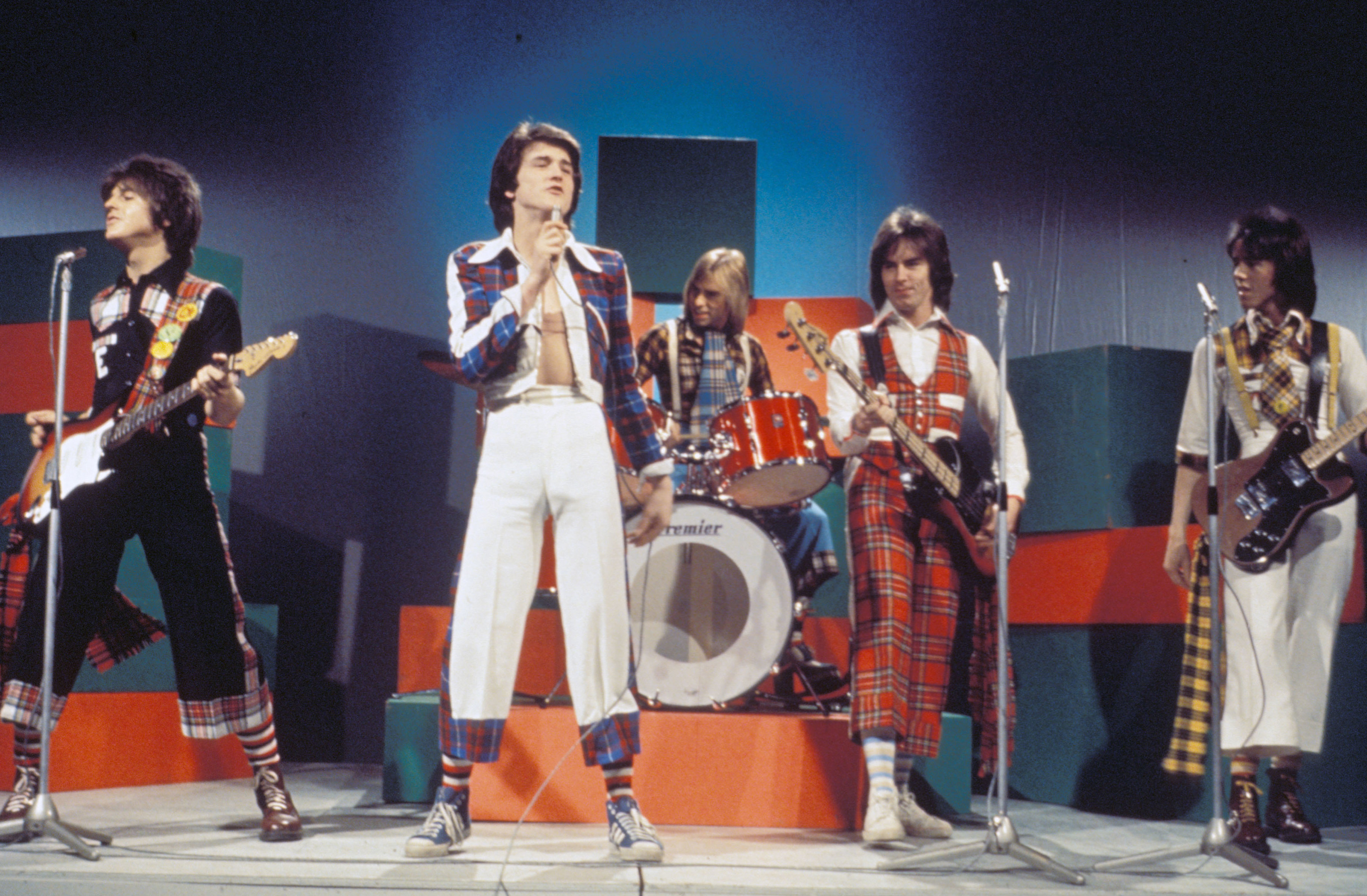 The Bay City Rollers, circa 1975.