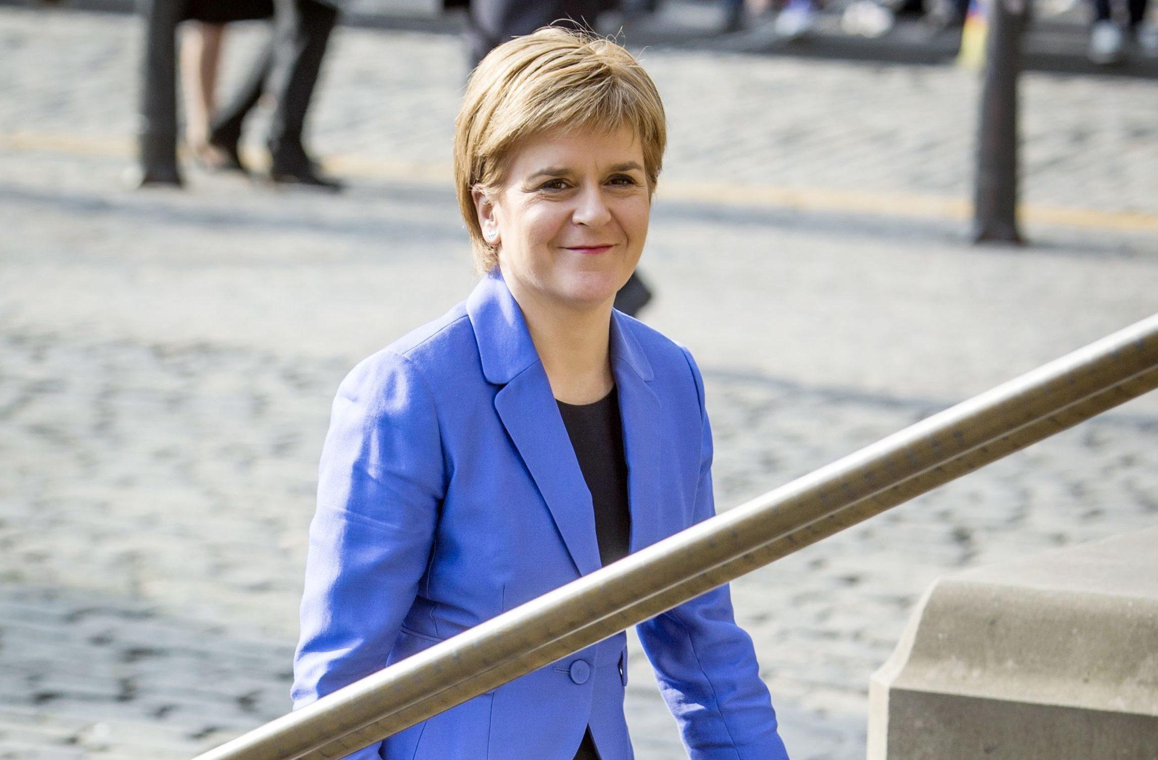 Nicola Sturgeon was swore in before 15 judges.