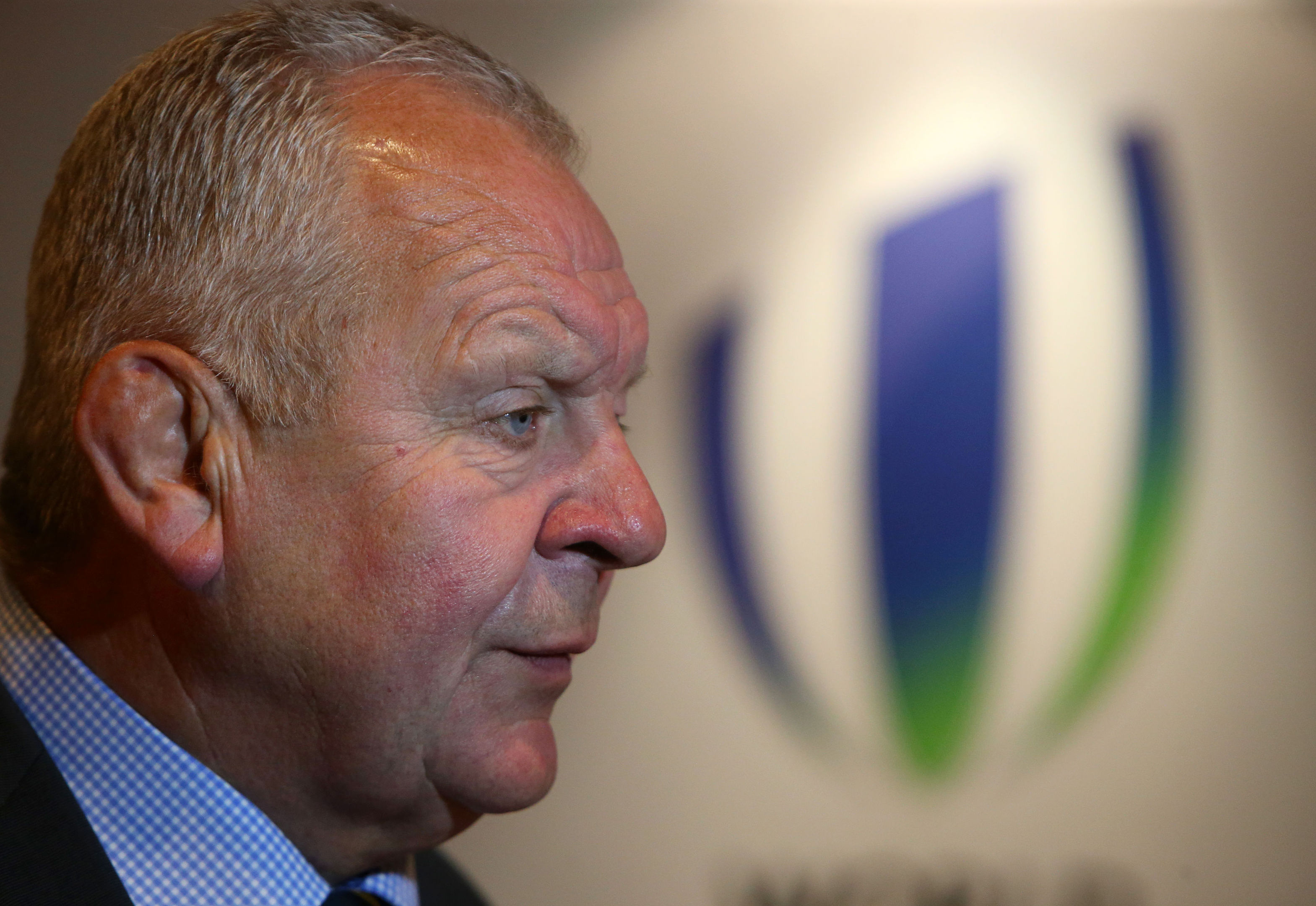 Incoming chairman of World Rugby, Bill Beaumont.