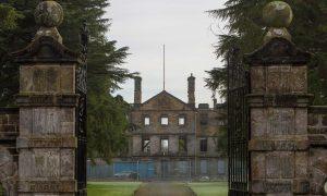 Developer pledges to restore fire-ravaged Fife mansion house