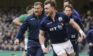 Stuart Hogg is one of two Scots selected.