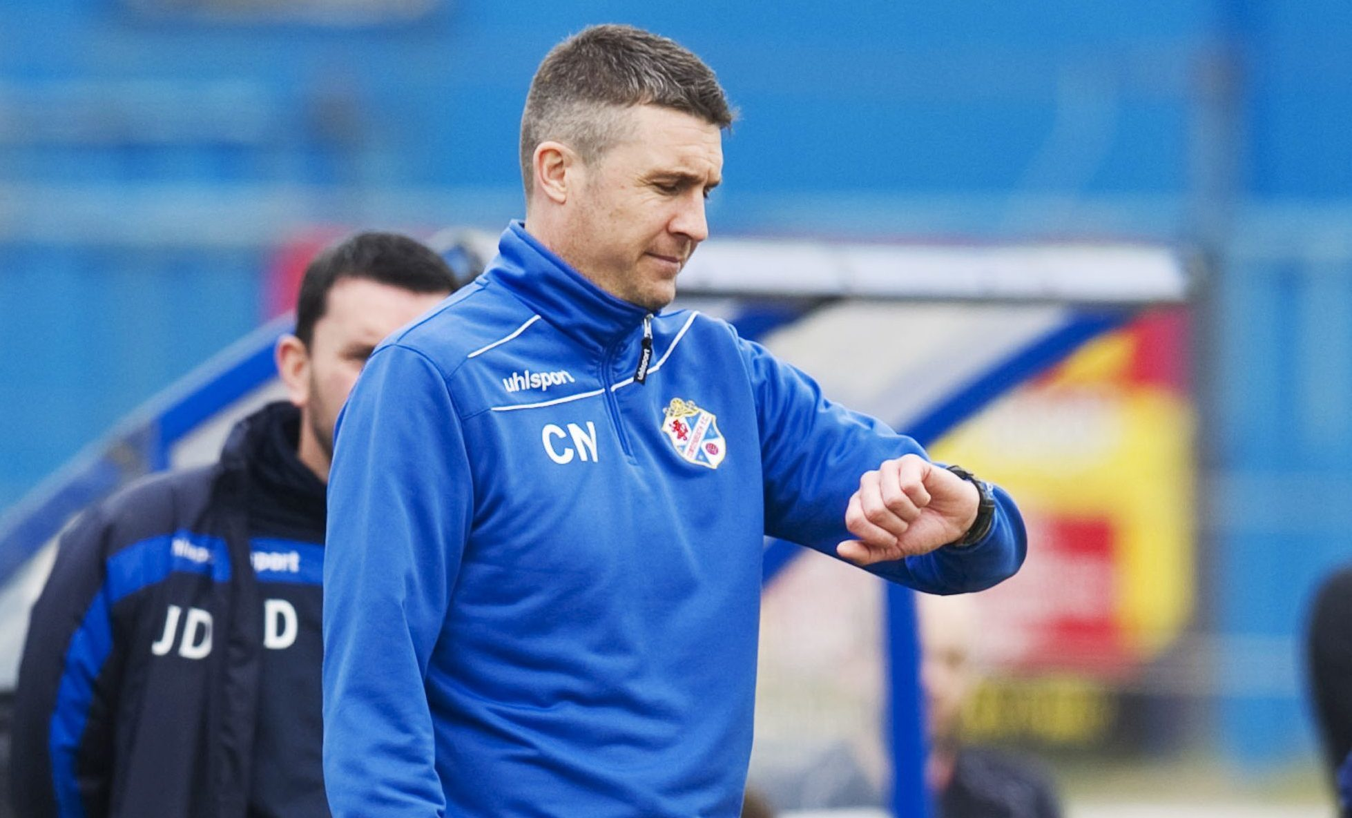Time is up for Colin Nish at Cowdenbeath.