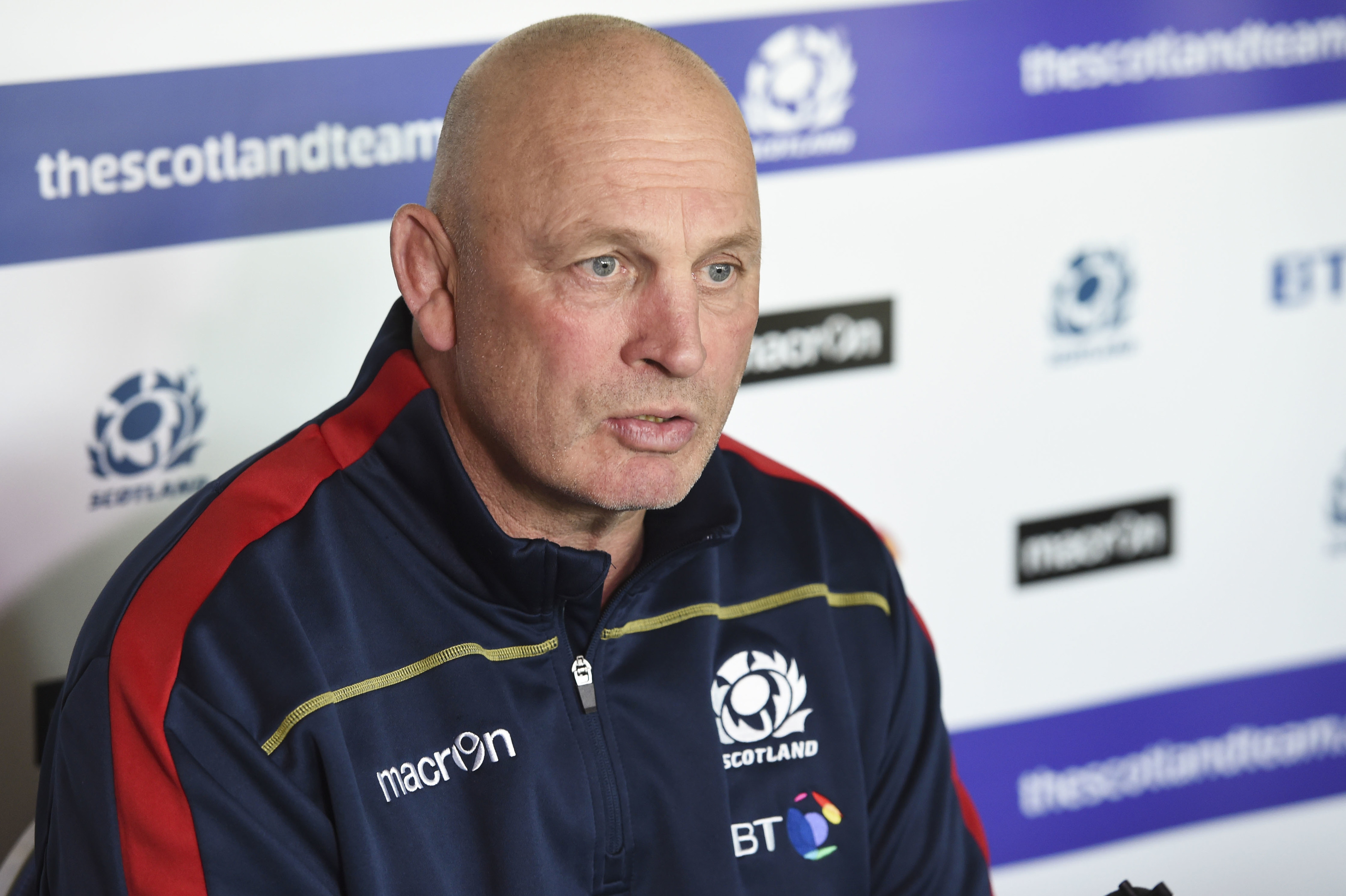 Scotland Head Coach Vern Cotter.