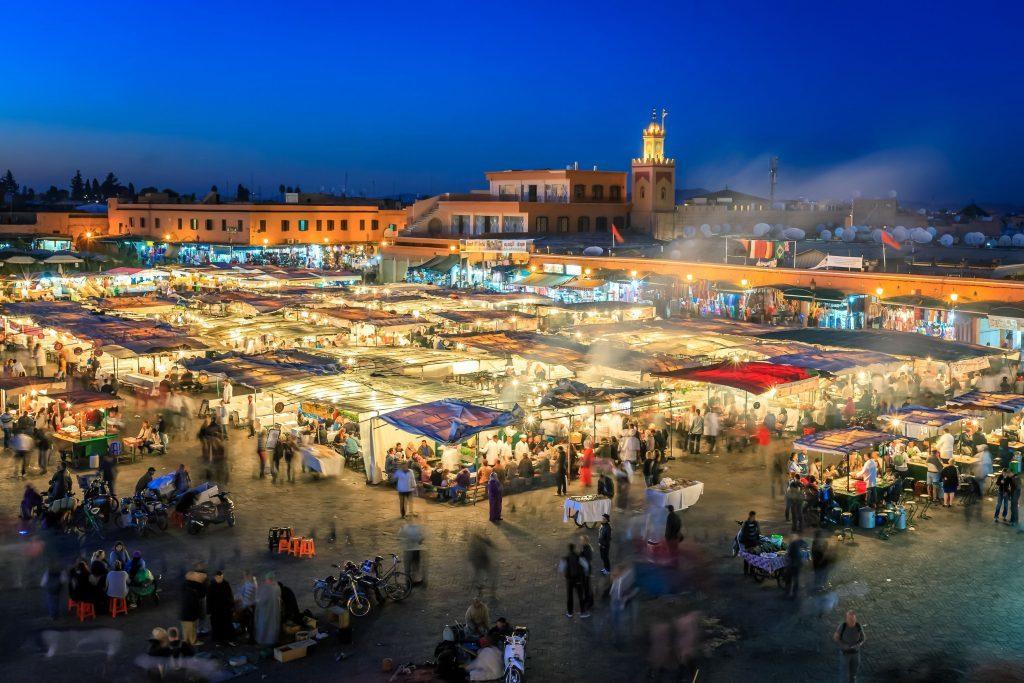 Jemaa El Fnaa, Marrakesh.