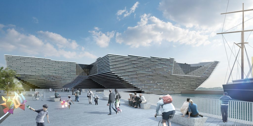 Artist's impression of £80.1 million V&A Dundee, set to open at the waterfront in 2018
